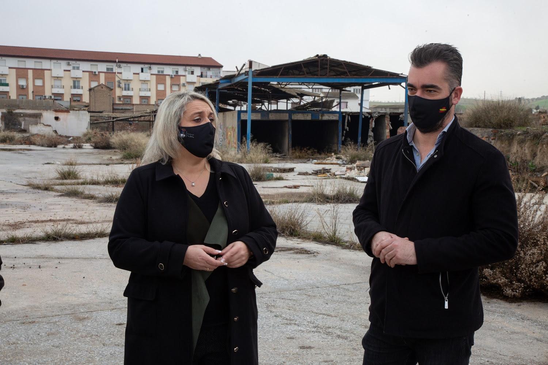 Las Gabias inicia la demolición de la antigua fábrica de ladrillos