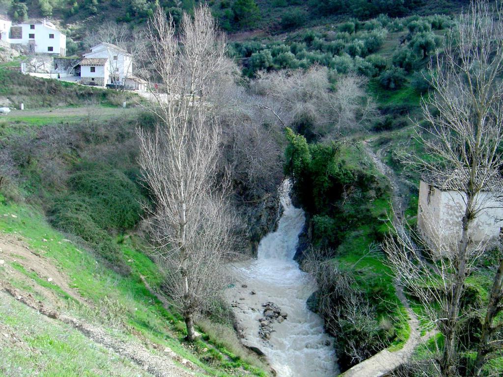 El Arroyo de los Molinos de Montefrío vuelve a mostrar sus espectaculares cascadas