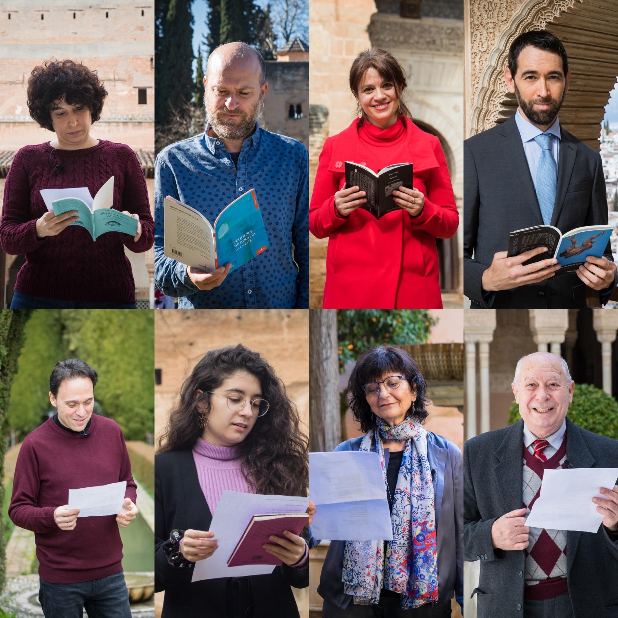 La Alhambra celebra el día de Andalucía recitando poemas de autores andaluces en el monumento