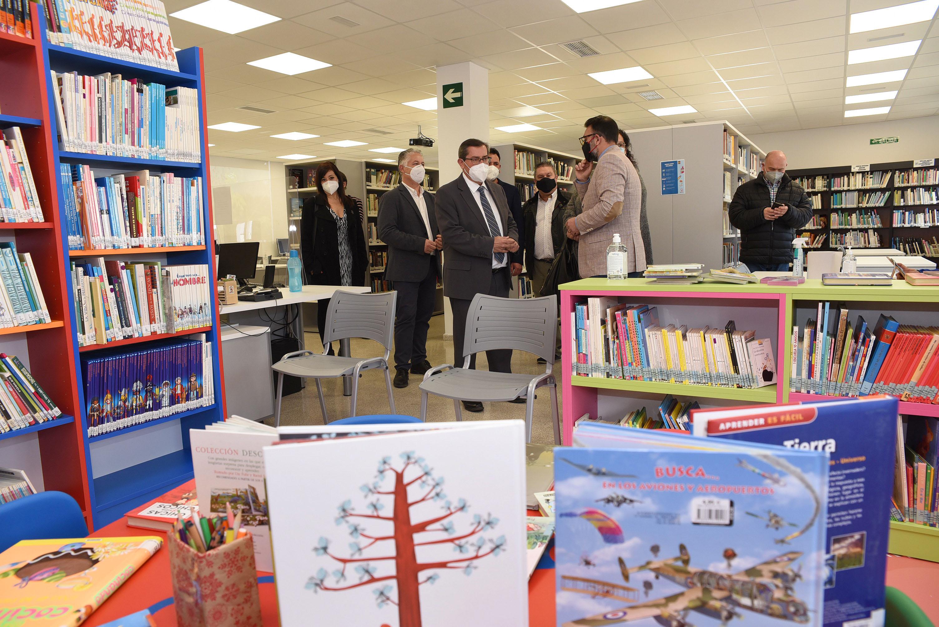 Vegas del Genil estrena biblioteca municipal tras una inversión de 240.000 euros