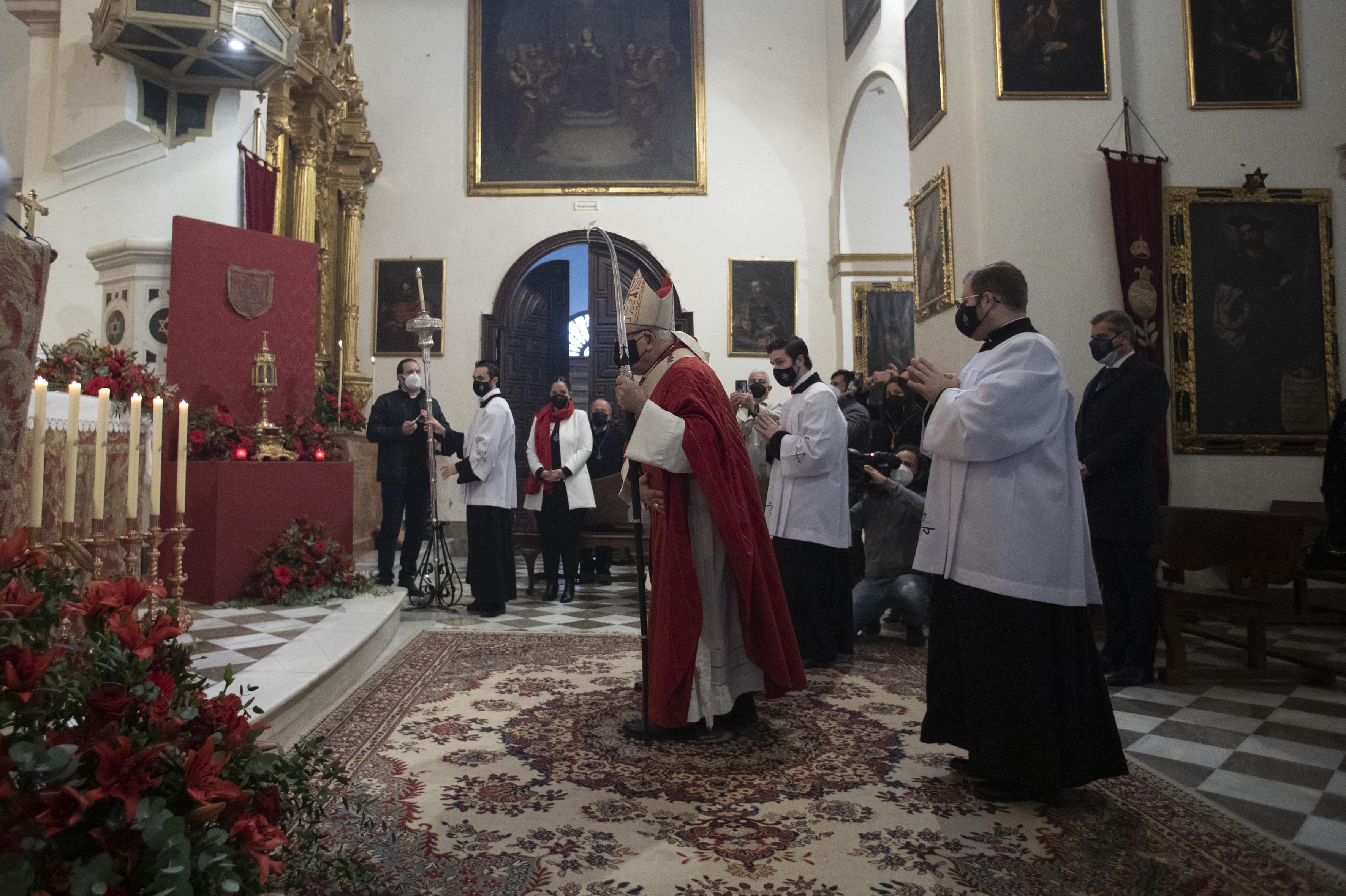 El alcalde pide a San Cecilio lo mejor para los tiempos que vienen: «Saldremos adelante»