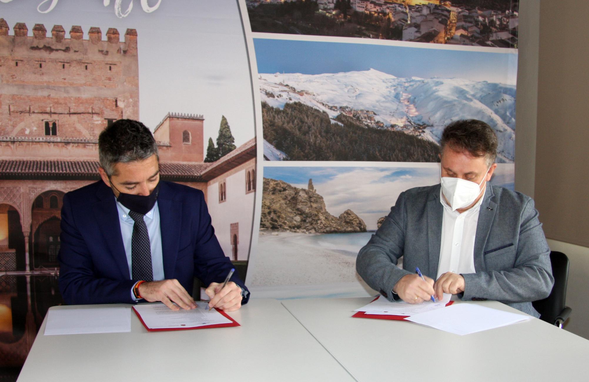 Diputación y Ayuntamiento de Granada coordinarán acciones para recuperar el turismo tras la pandemia