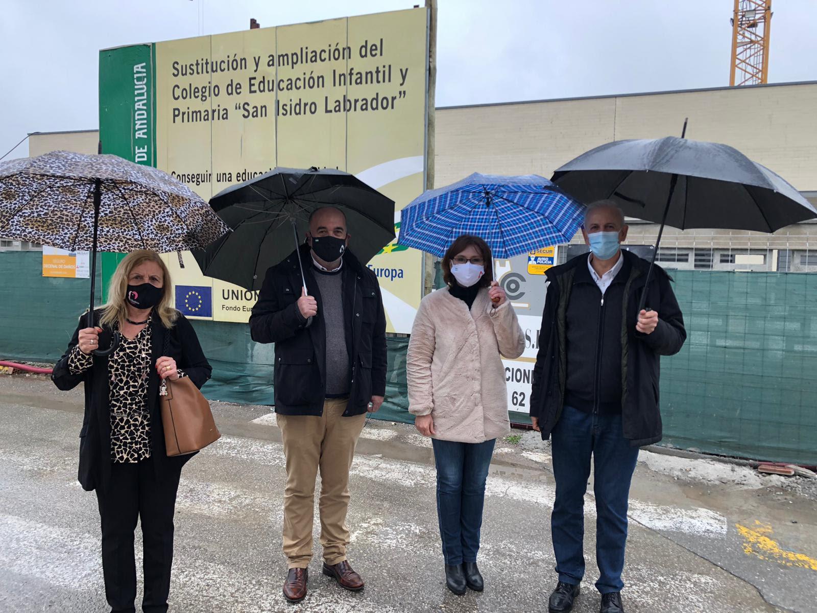Ciudadanos valora las inversiones en materia educativa para Albolote impulsadas desde Junta y Ayuntamiento