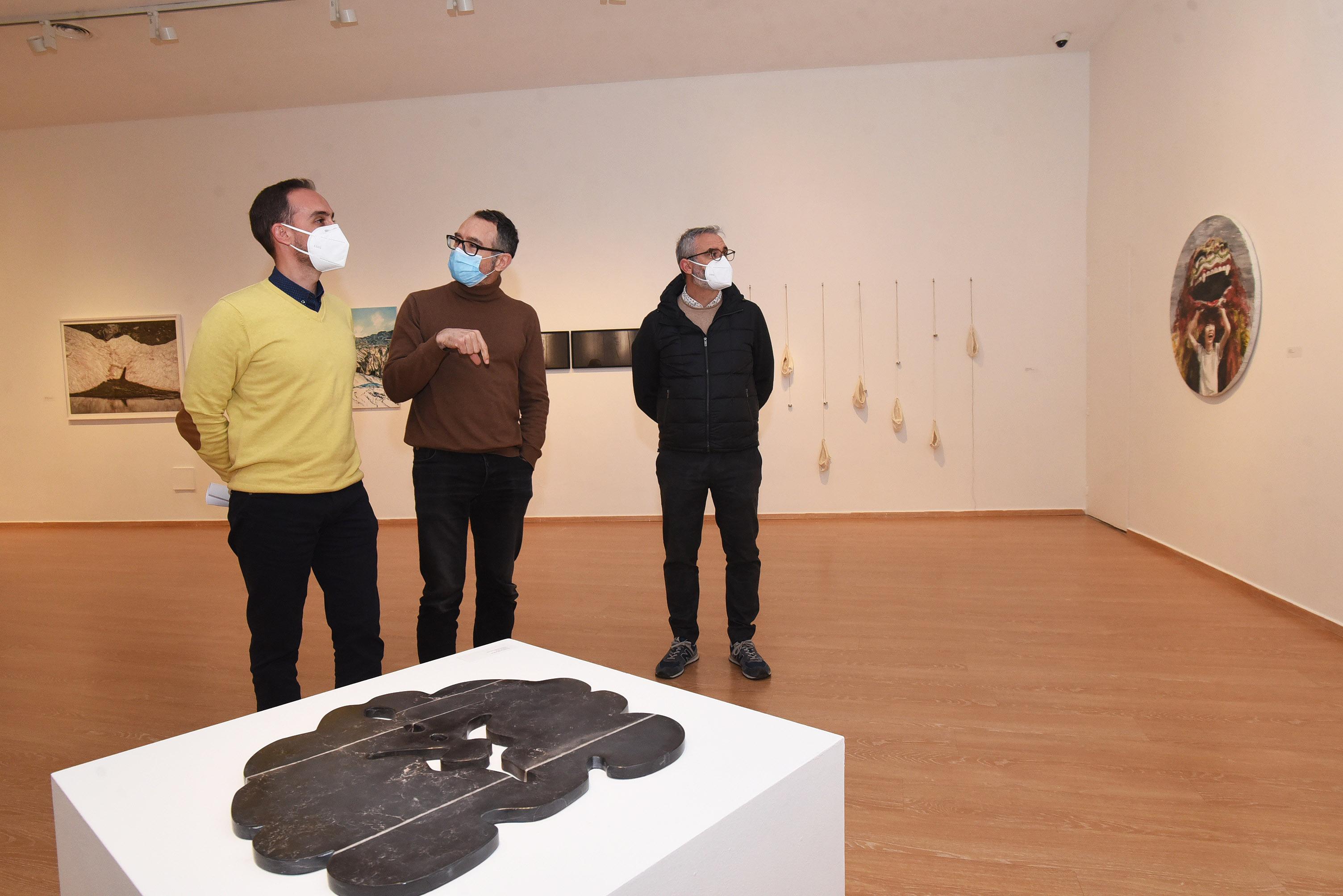 Reúnen 25 obras galardonadas en los Premios a la Creación Artística de Diputación en un exposición
