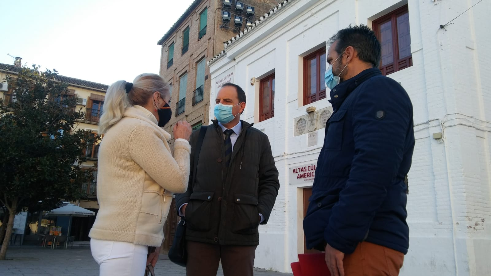 Francisco Ocaña urge a la Junta a destinar ayudas para los afectados por los terremotos en Granada