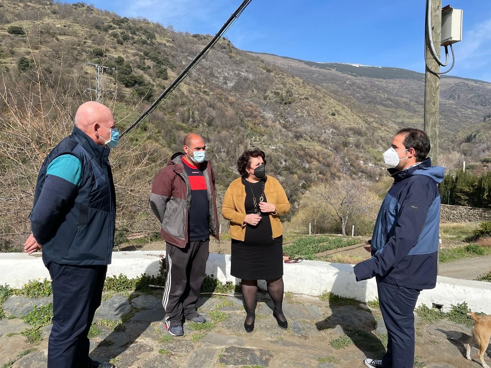 """El PSOE urge a la Junta el """"refuerzo"""" del dispositivo del Infoca en la Alpujarra y pide que """"no se desmantele en invierno"""""""