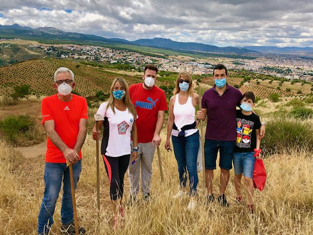 El PSOE de Huétor Vega propone la creación de una red de senderos verdes y saludables con interés paisajístico