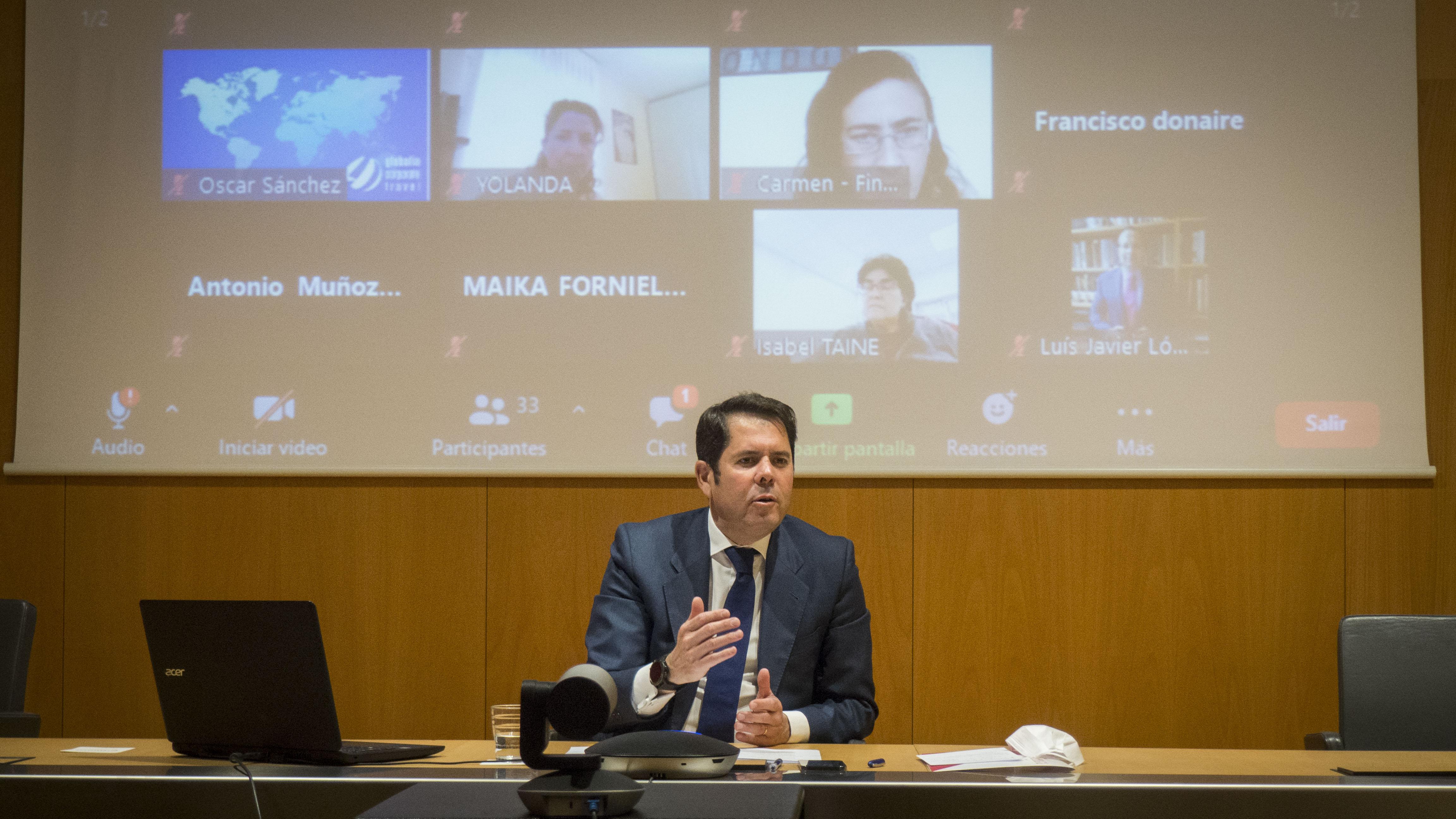 Gerardo Cuerva insiste en que «Granada tiene que decidir qué quiere ser en 2050»