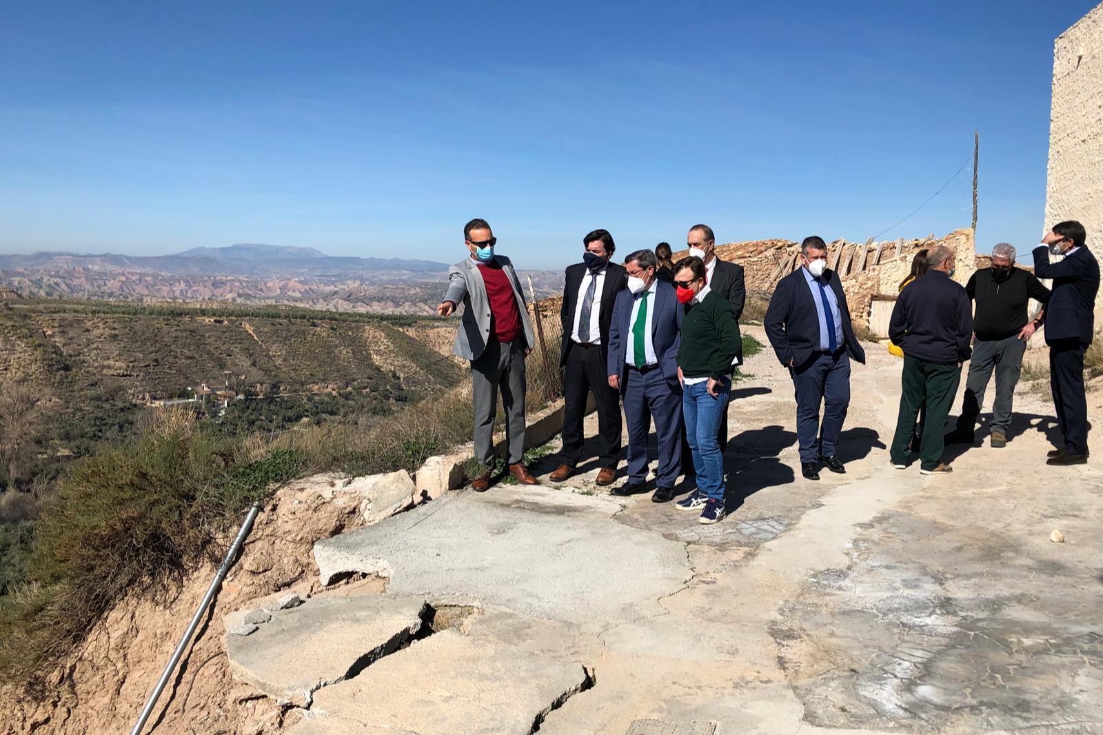 Cuevas del Campo y Freila recibirán ayudas de hasta 120.000 euros para reparar los daños por las inundaciones