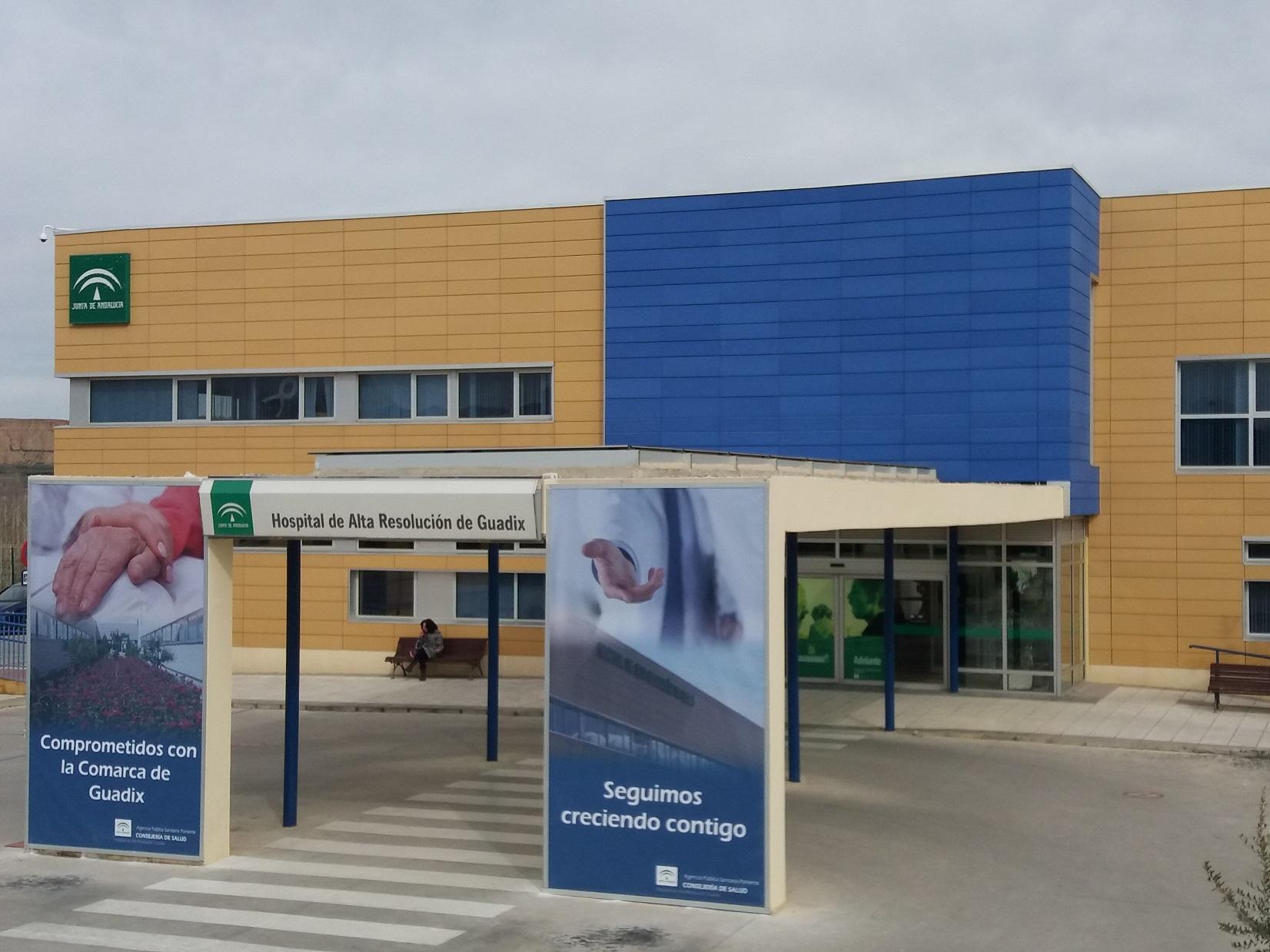 El Hospital de Guadix realiza más de 132.000 intervenciones sanitarias en el último año