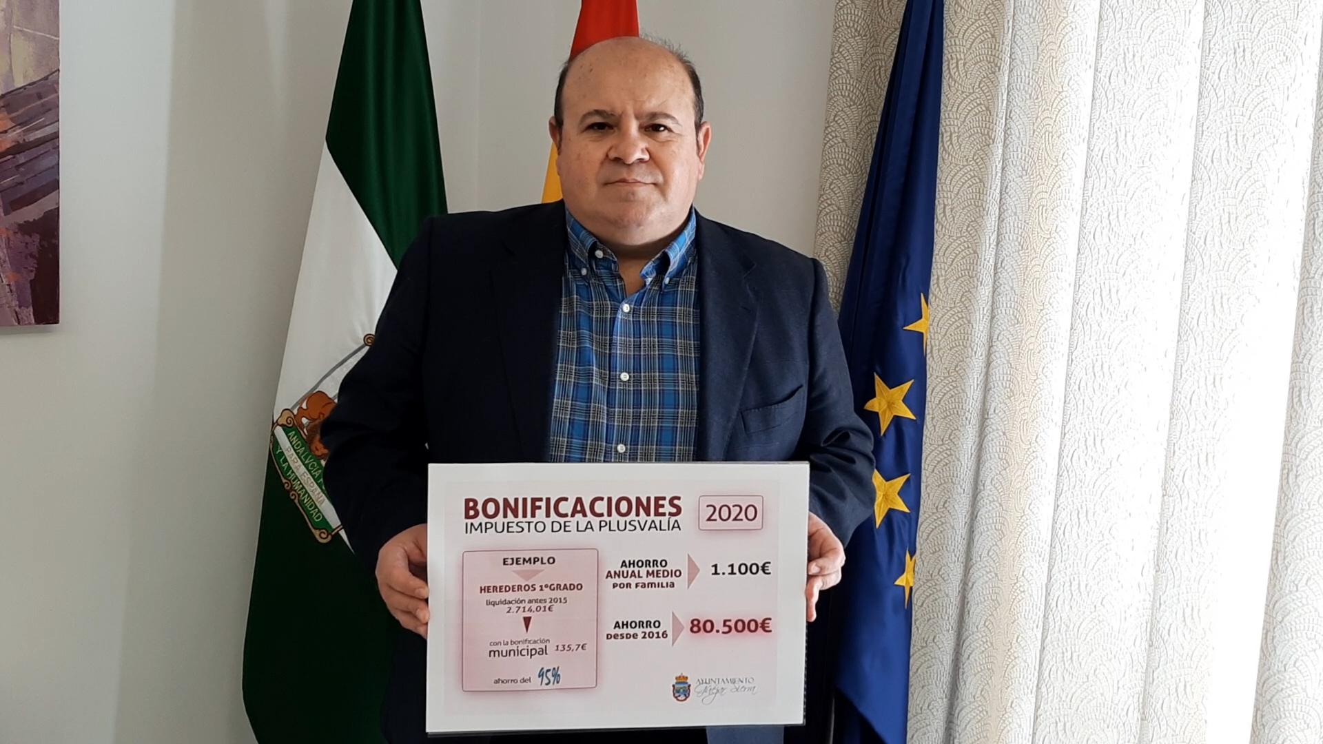 Güéjar Sierra bonifica más de 80.000 euros por plusvalías en los últimos cinco años