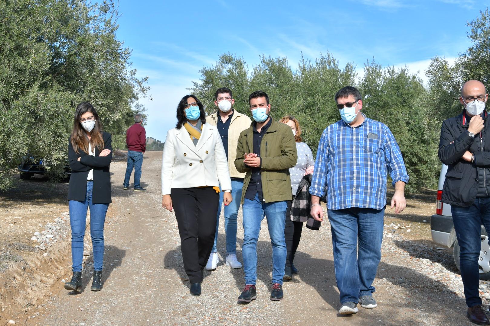 Concluyen las obras de varios caminos rurales en el municipio de Moclín