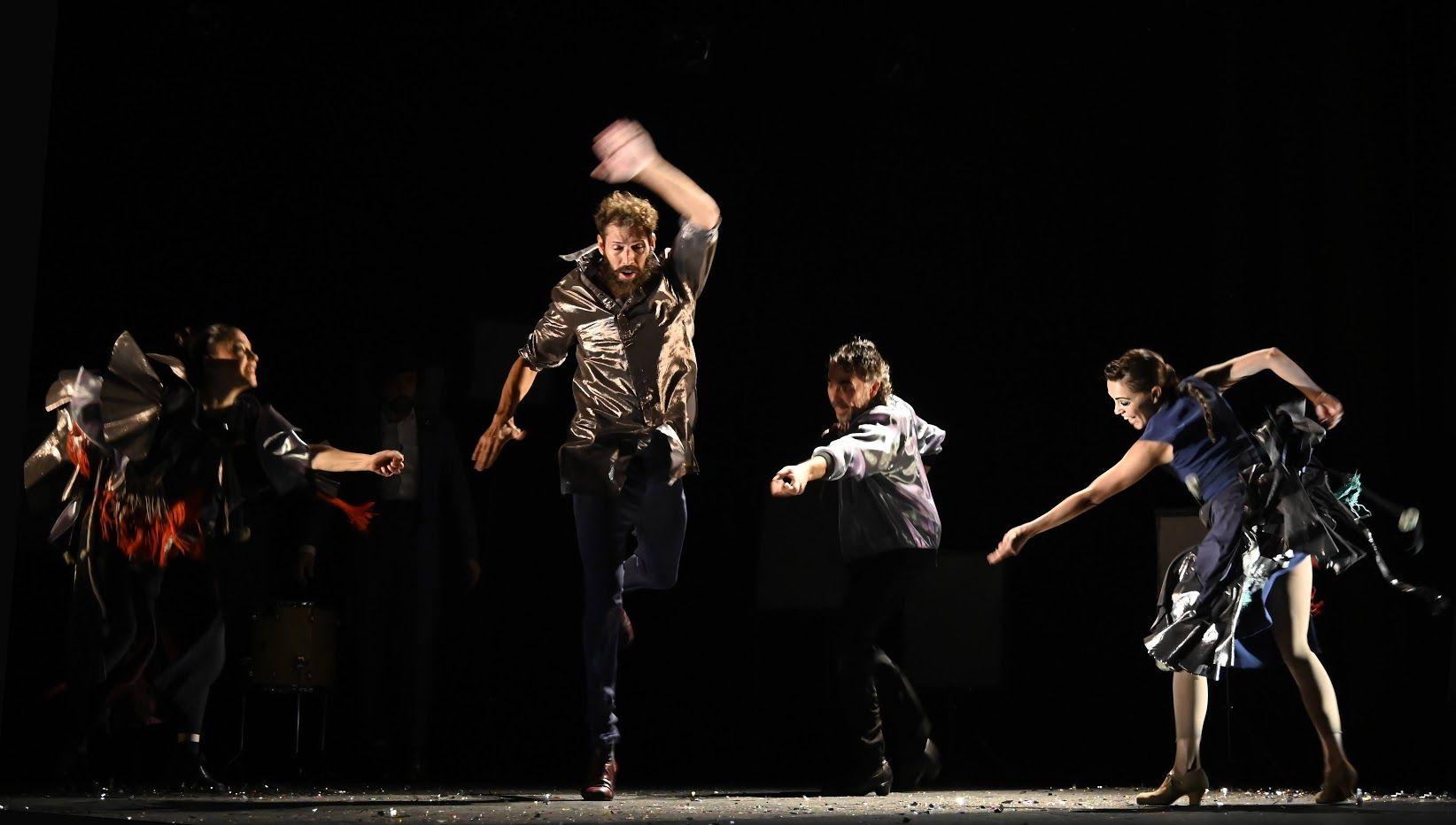 «Los cuerpos celestes» mezcla de flamenco y música electrónica en el Teatro Alhambra