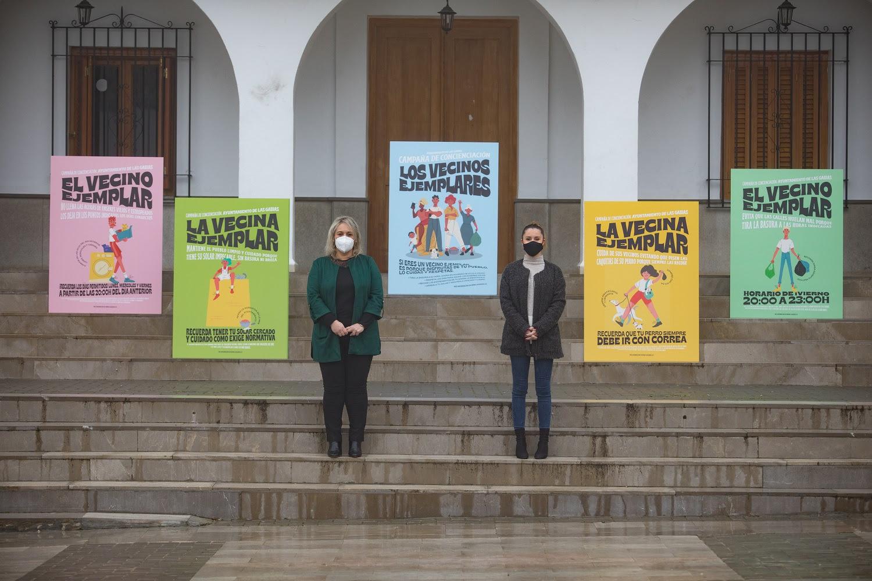 Las Gabias impulsa una campaña para concienciar a la población sobre la importancia de mantener limpio el municipio