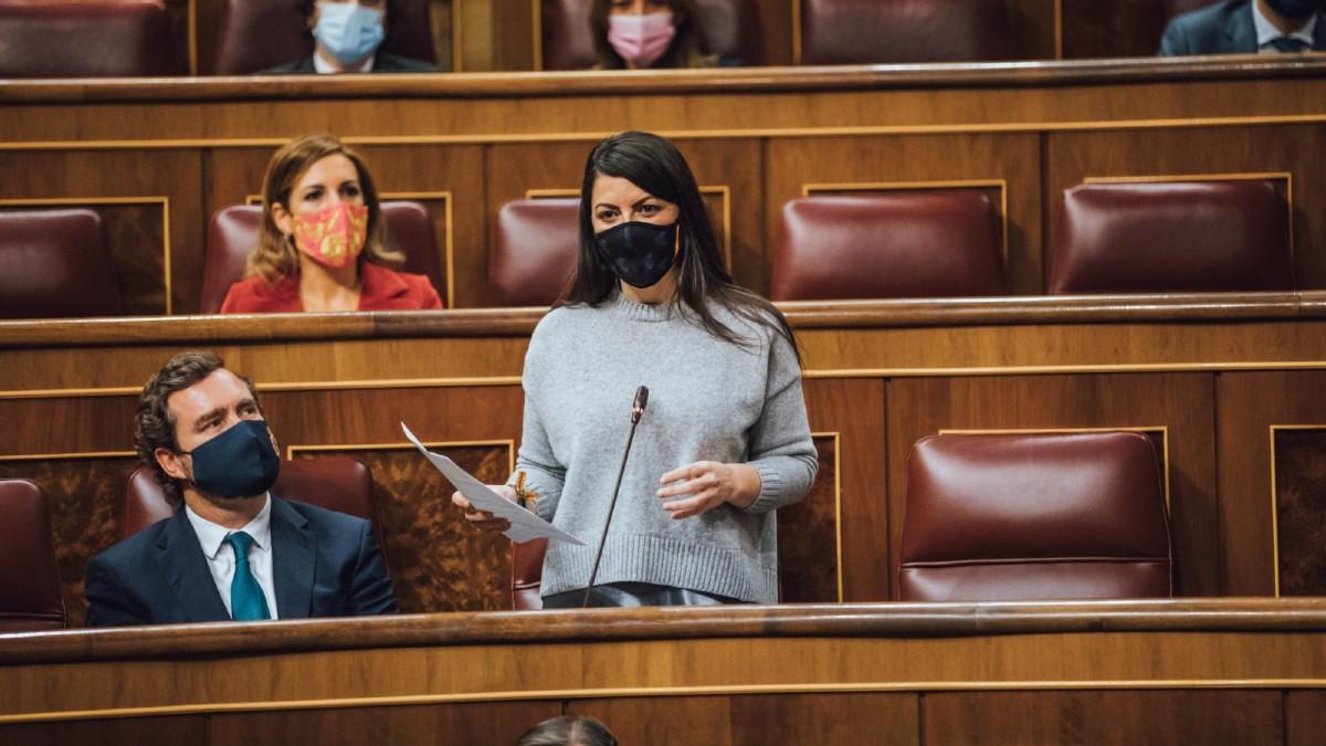 """Olona (VOX): """"Teodoro García Egea miente a los granadinos"""""""