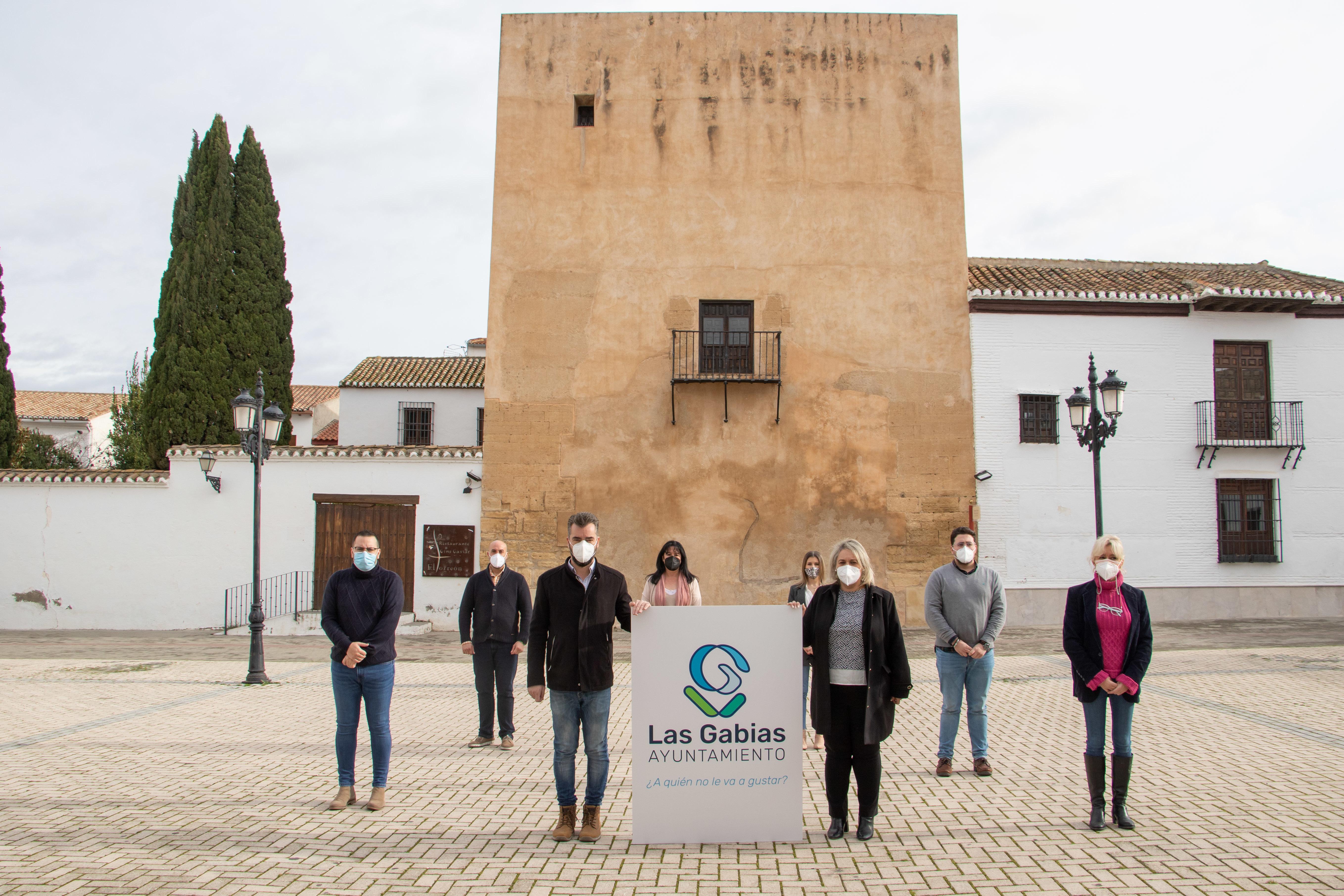 El Ayuntamiento de Las Gabias presenta un nuevo logotipo como imagen de marca