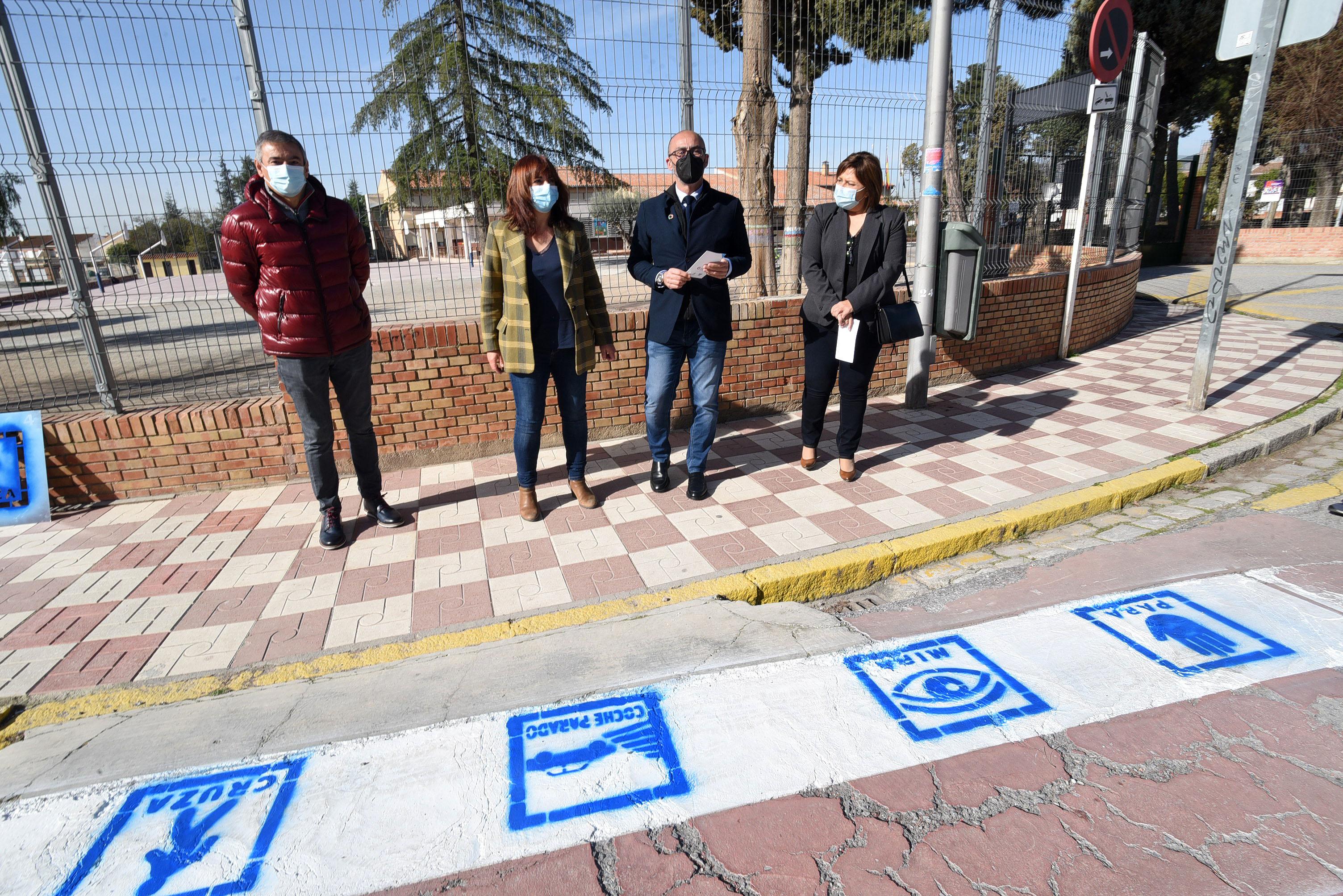 Albolote se suma al proyecto de Diputación para adaptar los pasos de peatones a personas con trastorno del espectro autista