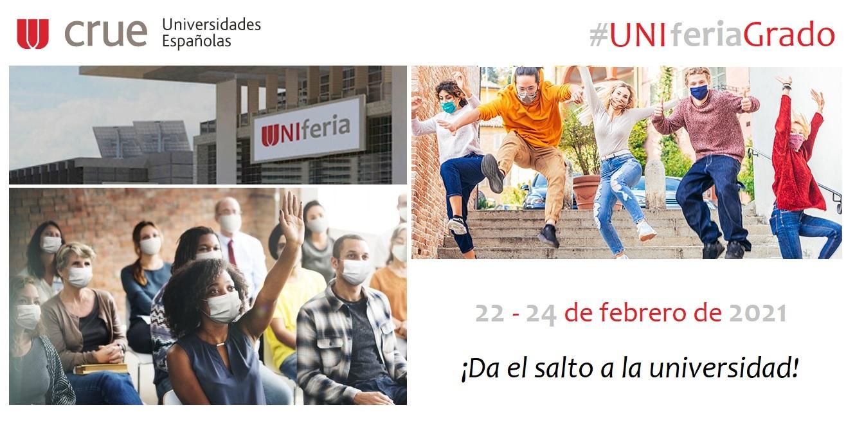 Vuelve UNIferia, la feria virtual de estudios universitarios de grado de las universidades españolas