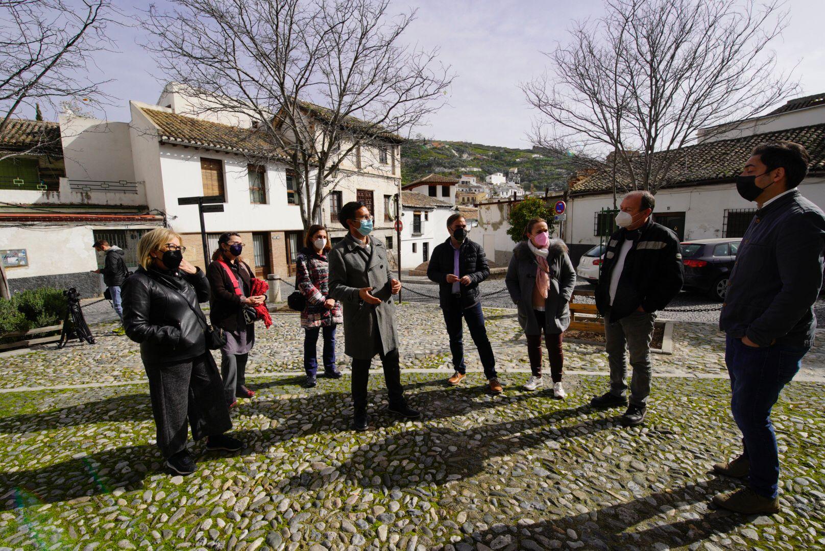 El PSOE exige al Bipartito la creación de una gran zona verde en San Miguel