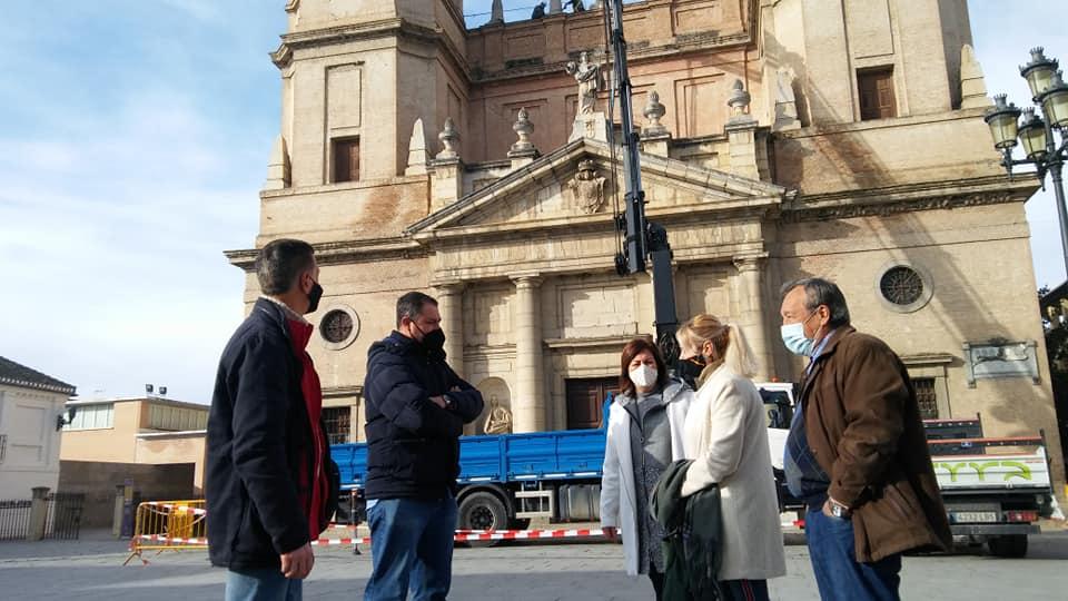El Grupo Provincial de VOX en la Diputación de Granada visita los municipios afectados por los terremotos