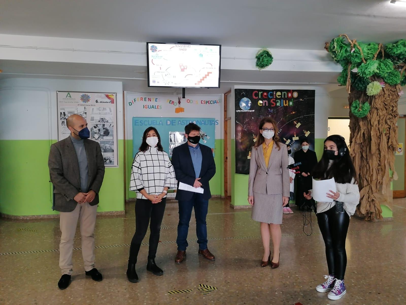 Educación invierte 1,9 millones para el refuerzo de los programas de innovación de 479 centros granadinos