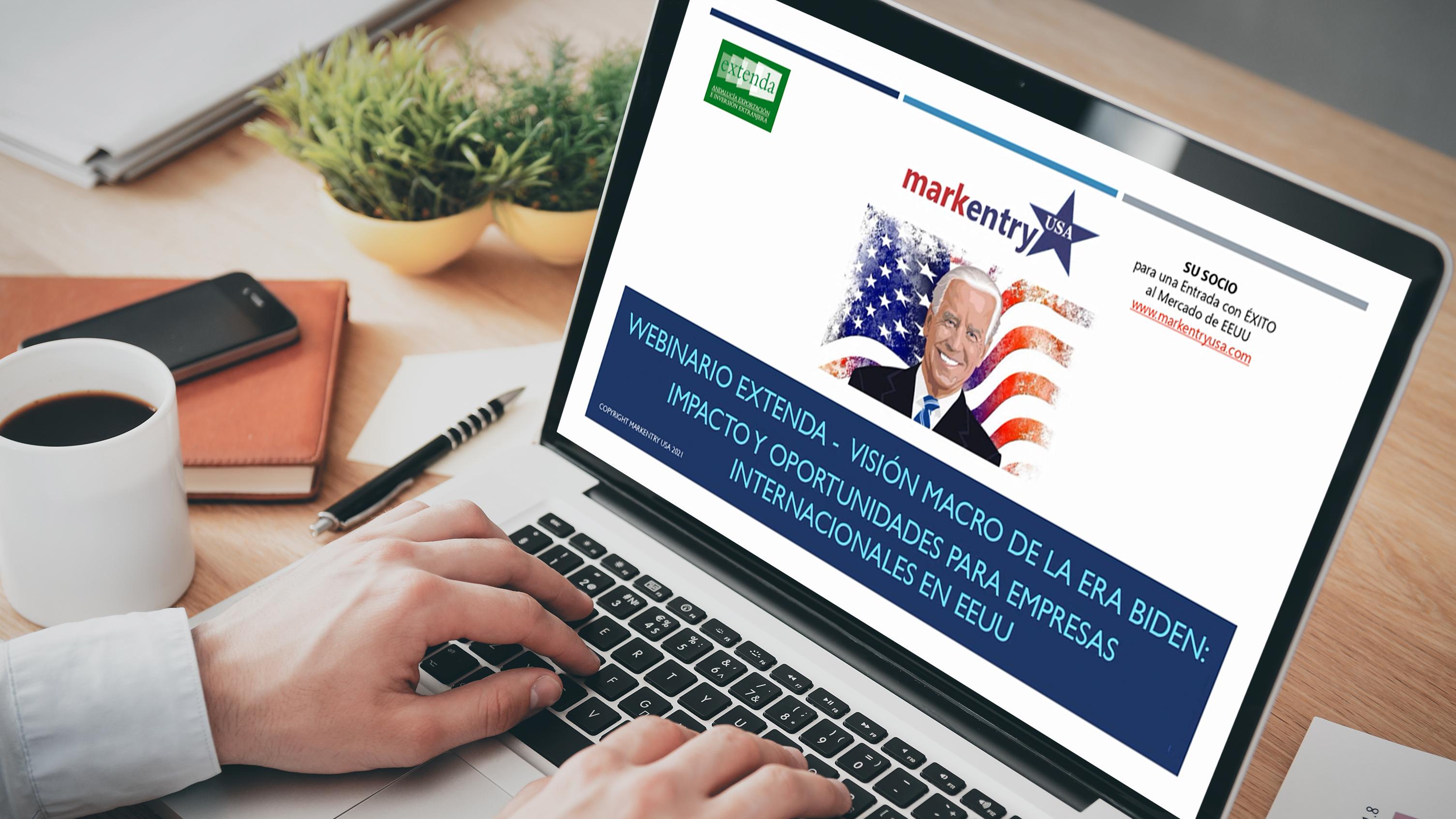 Extenda traslada a las empresas andaluzas las nuevas oportunidades que genera la 'era Biden' para el comercio con Estados Unidos