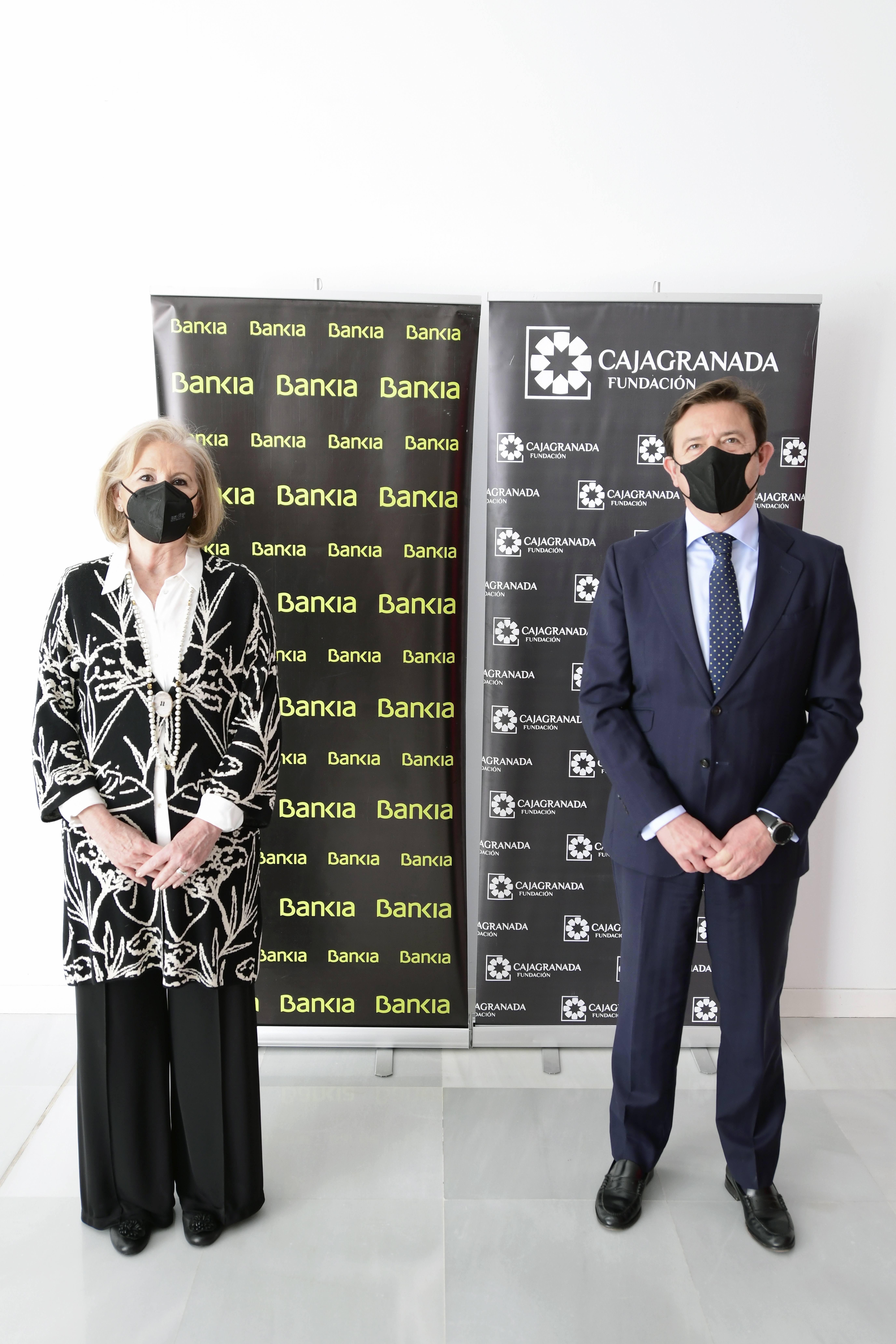 Bankia destina 810.000 euros a CajaGranada Fundación para impulsar proyectos sociales y culturales