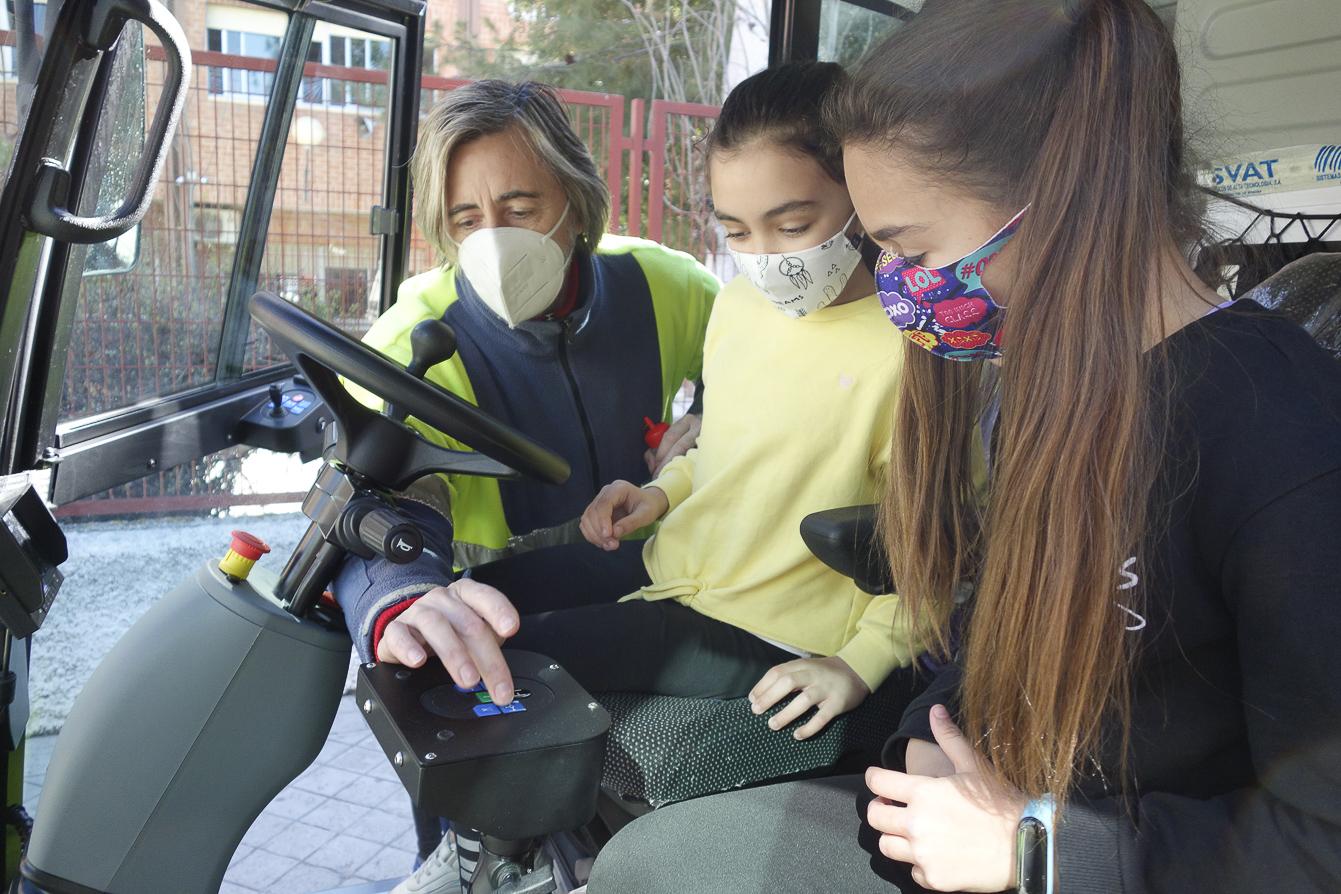 Escolares escriben cartas a los operarios de Inagra por limpiar la ciudad durante la pandemia