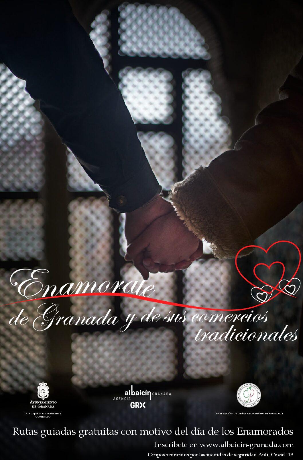 'Enamórate de Granada y sus comercios',  campaña municipal con motivo de San Valentín