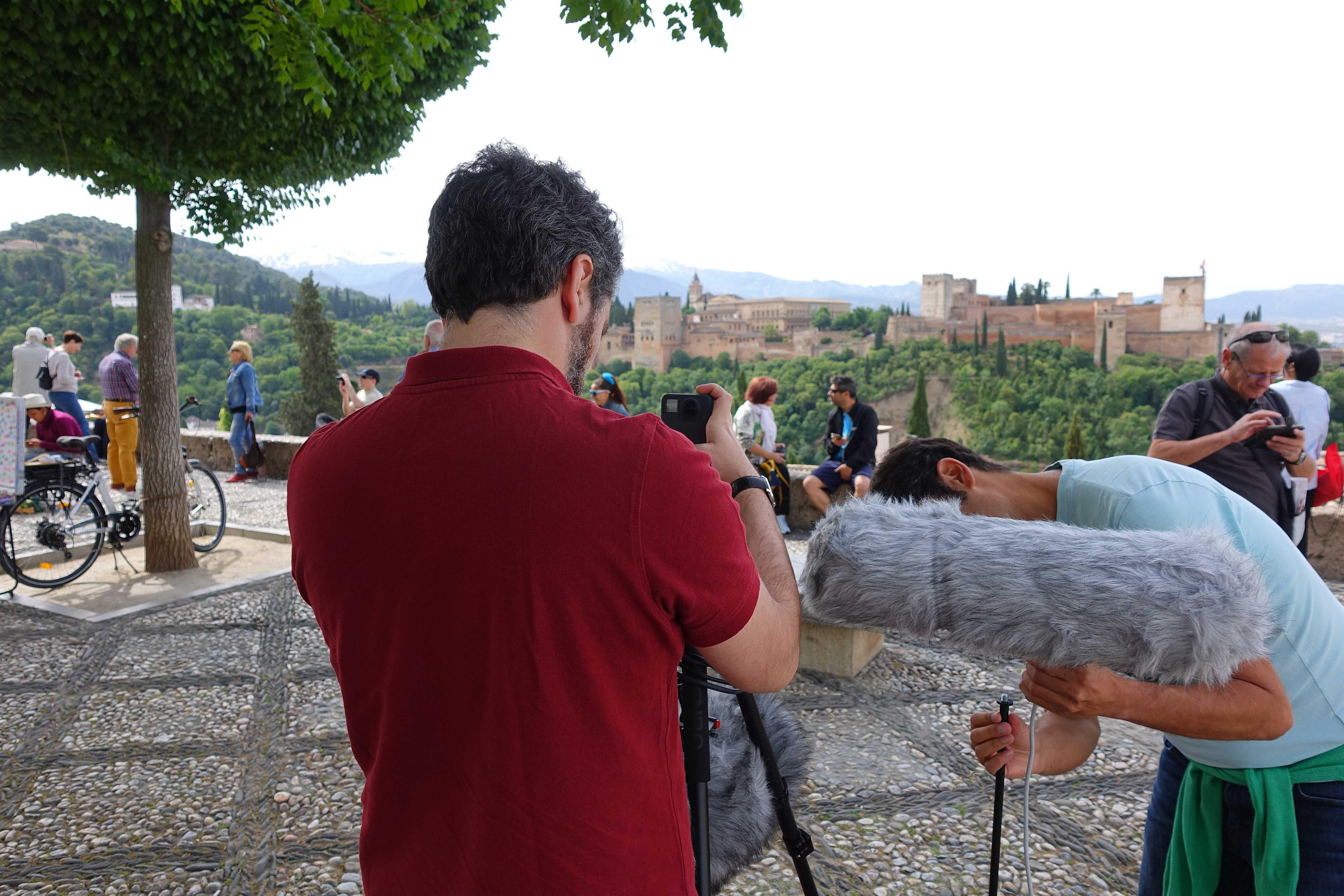 El ruido durante el confinamiento fue cien veces menor a lo habitual en las zonas más turísticas de Granada