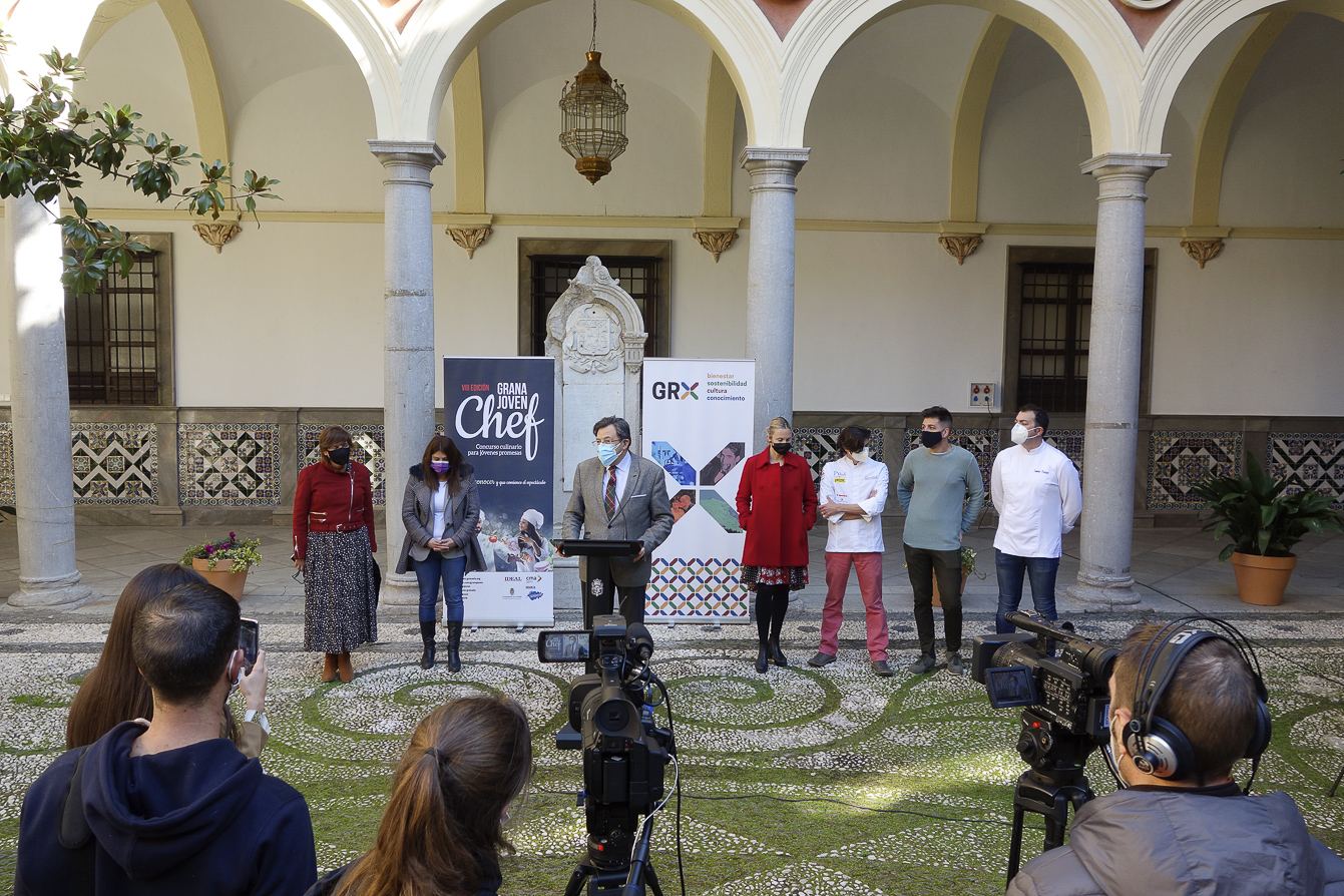 Presentada la VIII edición del concurso culinario 'Granajovenchef2021'