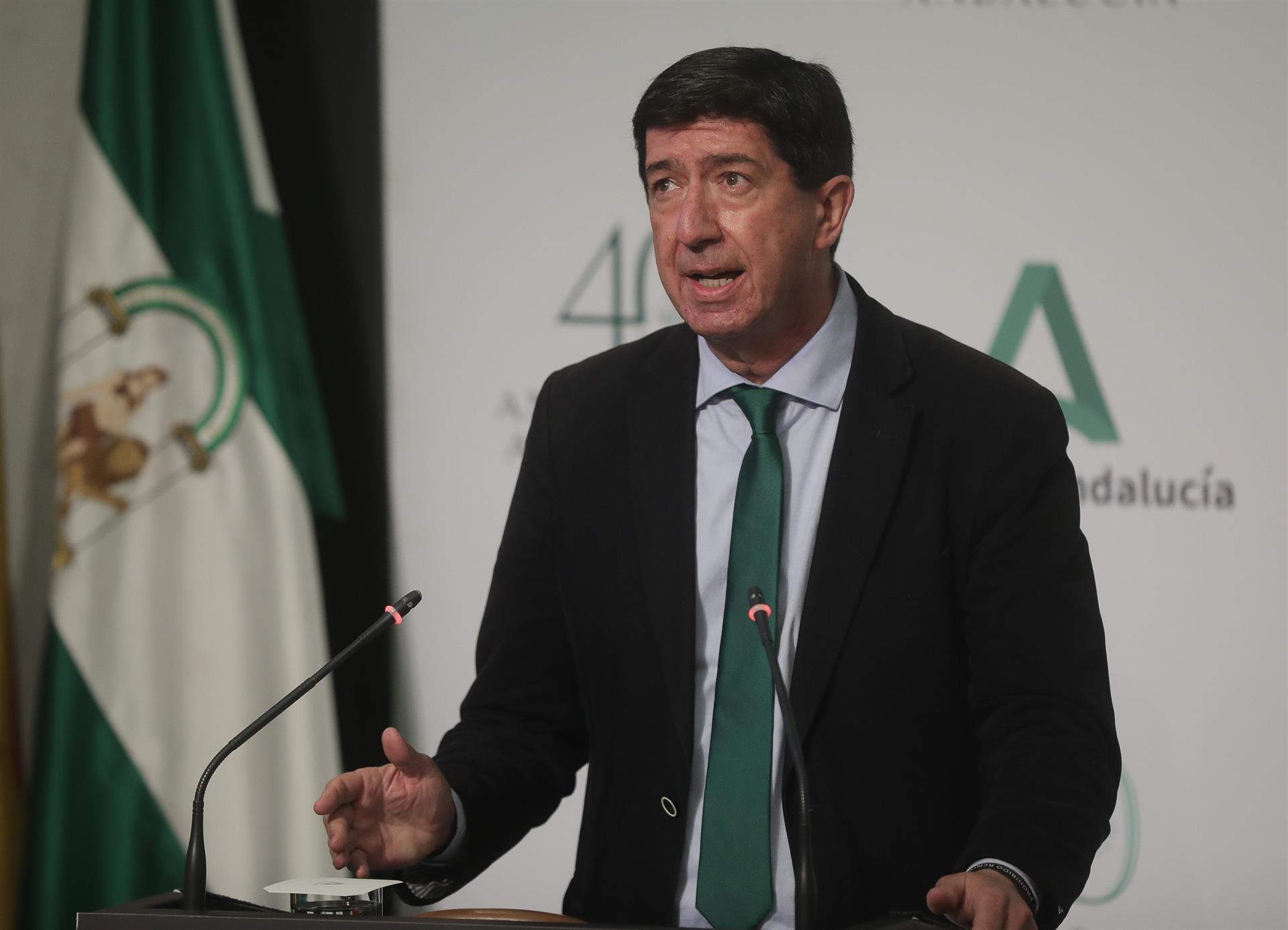 Marín apela al «espíritu reivindicativo» del 28F y cree que se necesita una Andalucía «fuerte» para una España próspera