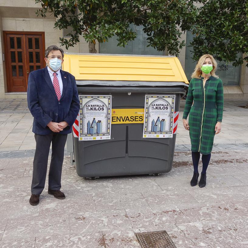 El distrito Norte es la zona de Granada que más recicló envases ligeros en 2020