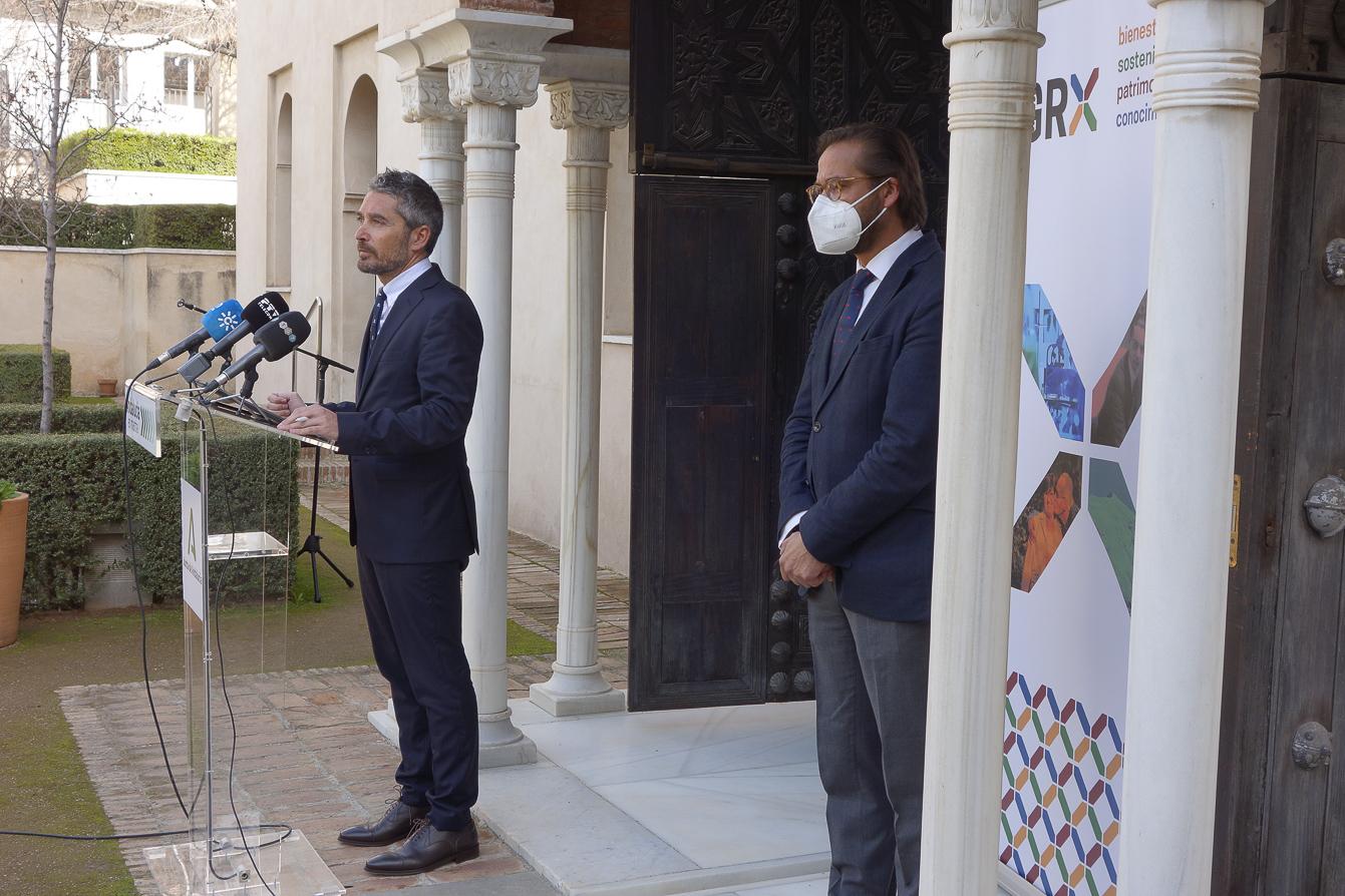 El Ayuntamiento quiere convertir el entorno del Alcázar del Genil en espacio de interés cultural