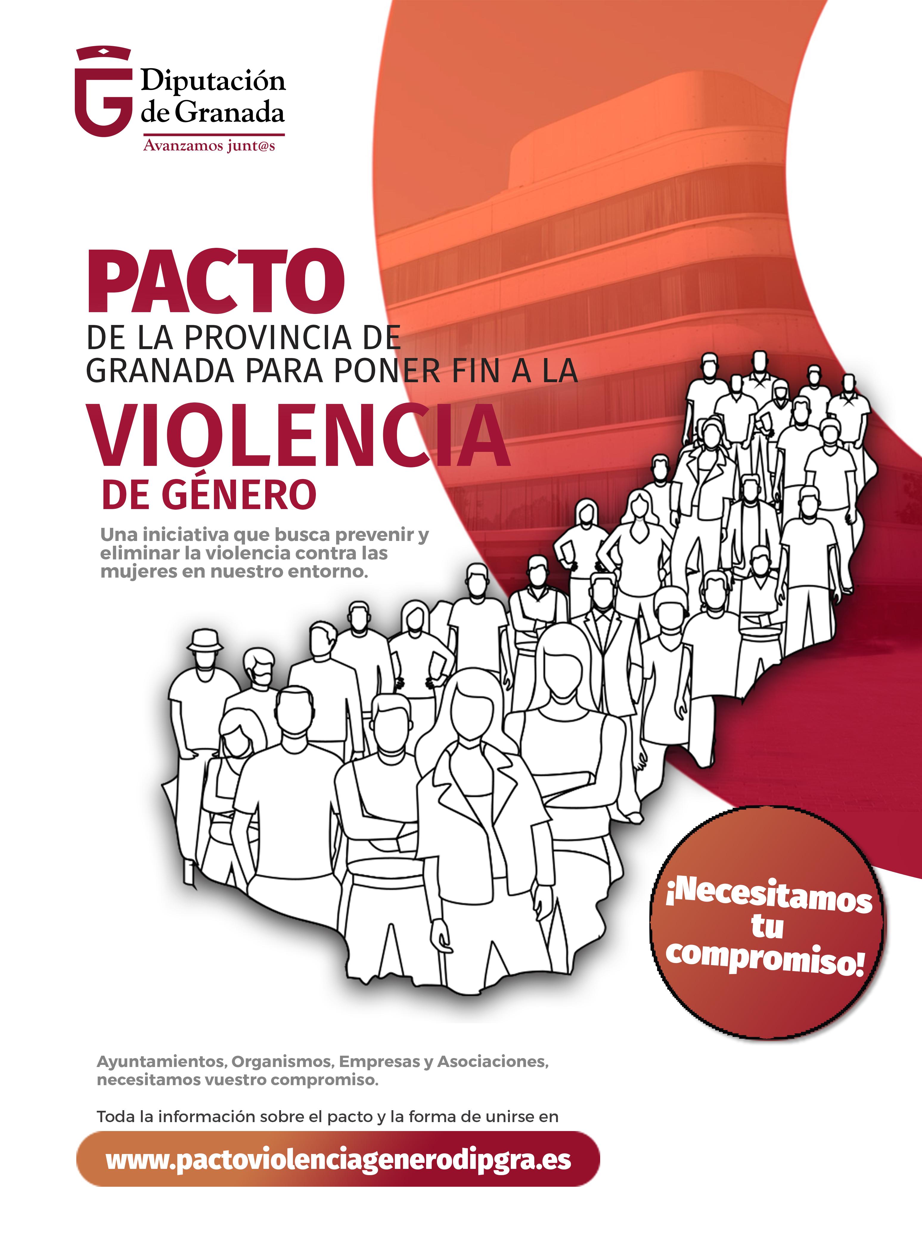 Diputación inicia una campaña para sumar fuerzas en torno al Pacto Provincial contra la Violencia de Género