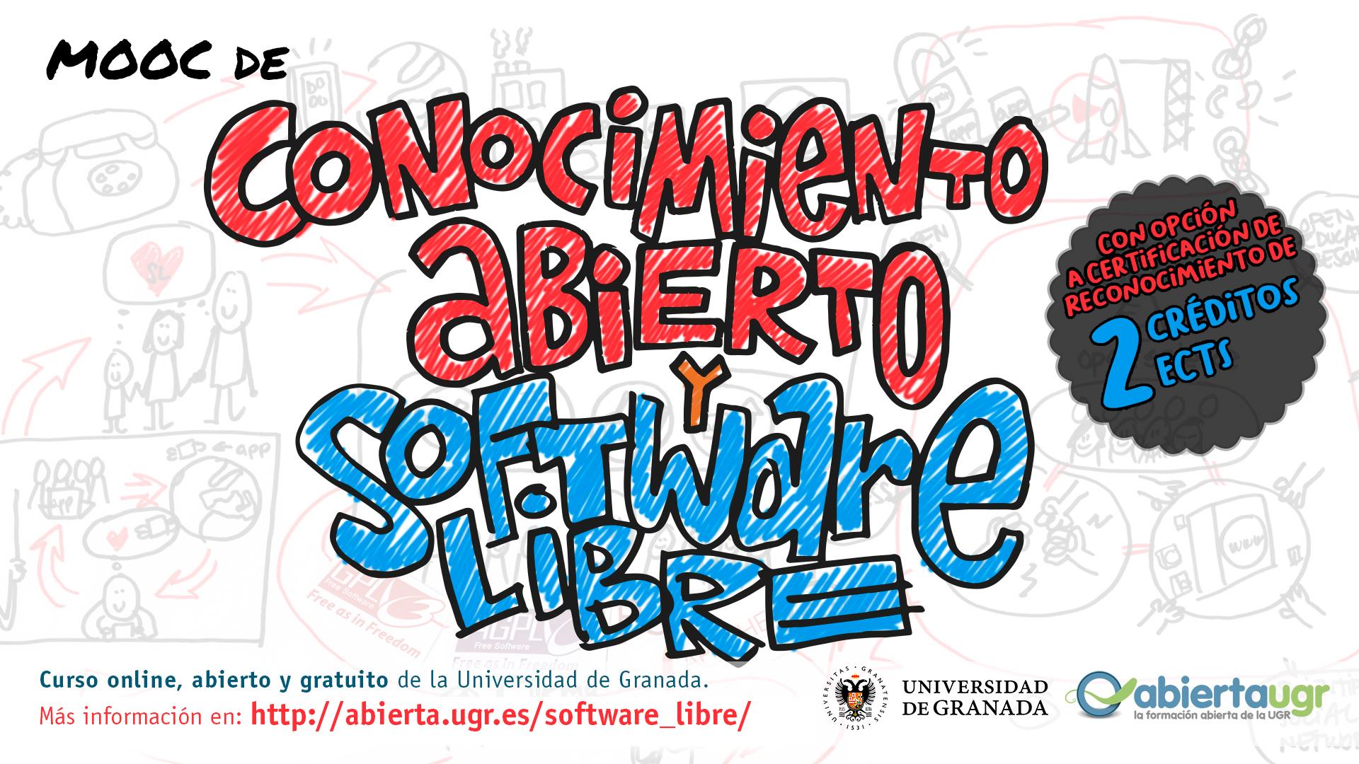 """La UGR presenta una nueva edición del MOOC """"Conocimiento Abierto y Software Libre"""""""