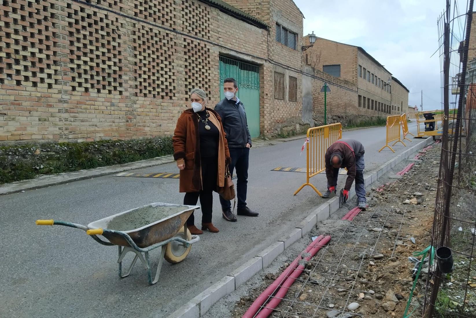 Las Gabias contrata a 41 personas para obras de reposición de acerado