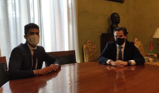 Luis Salvador defiende las políticas juveniles de Ciudadanos en la Junta