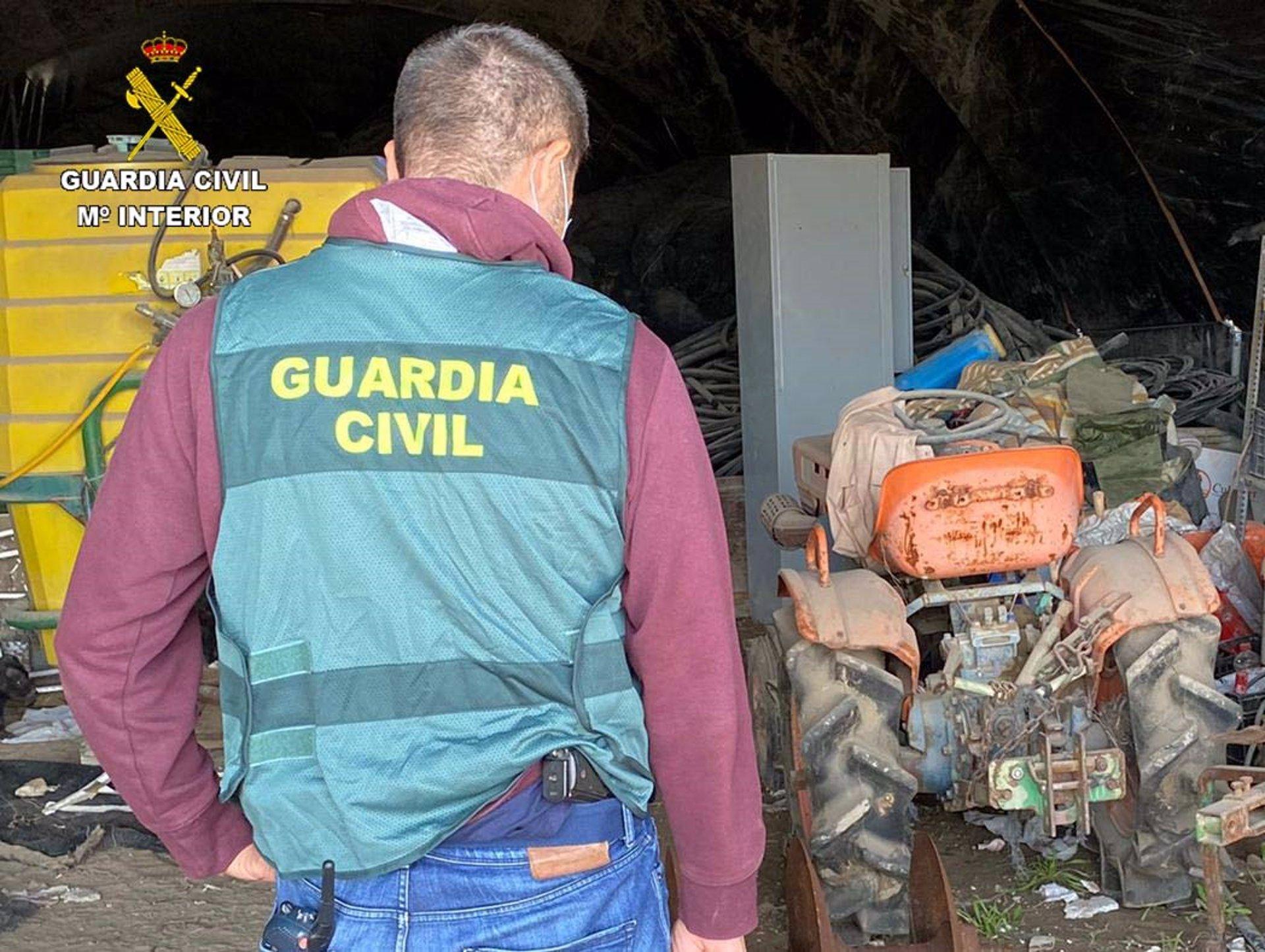 Cuatro investigados por el hurto de más de 10.000 kilos de aceituna en Cijuela y Salar
