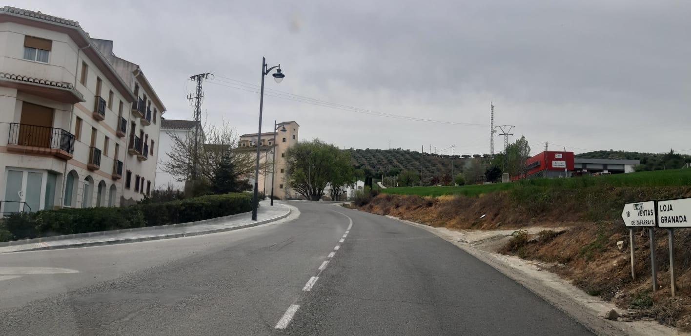 Licitada la actualización del proyecto de construcción de la variante de Alhama de Granada