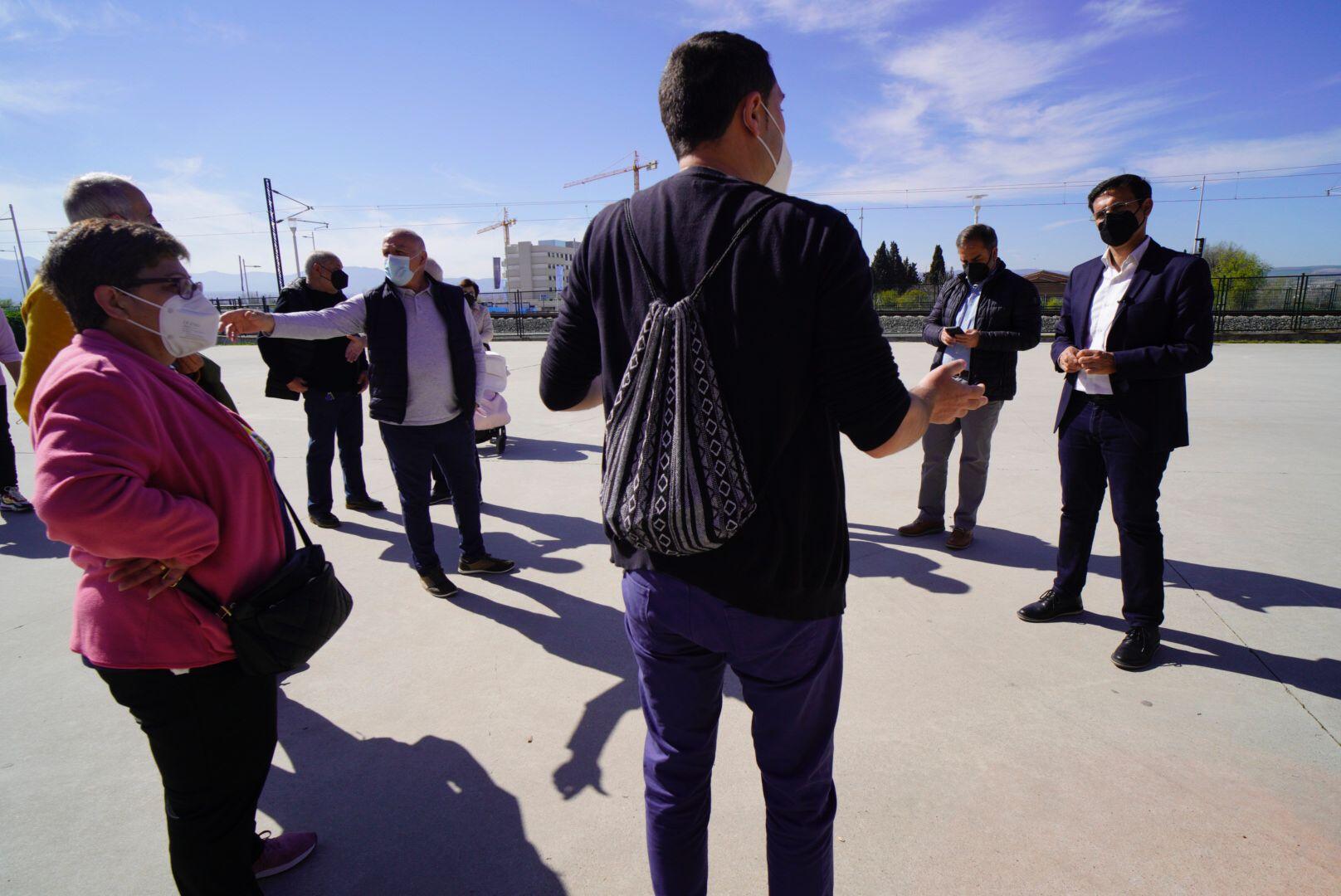 Cuenca reclama al Ayuntamiento que pida fondos europeos para soterrar el tren en La Chana