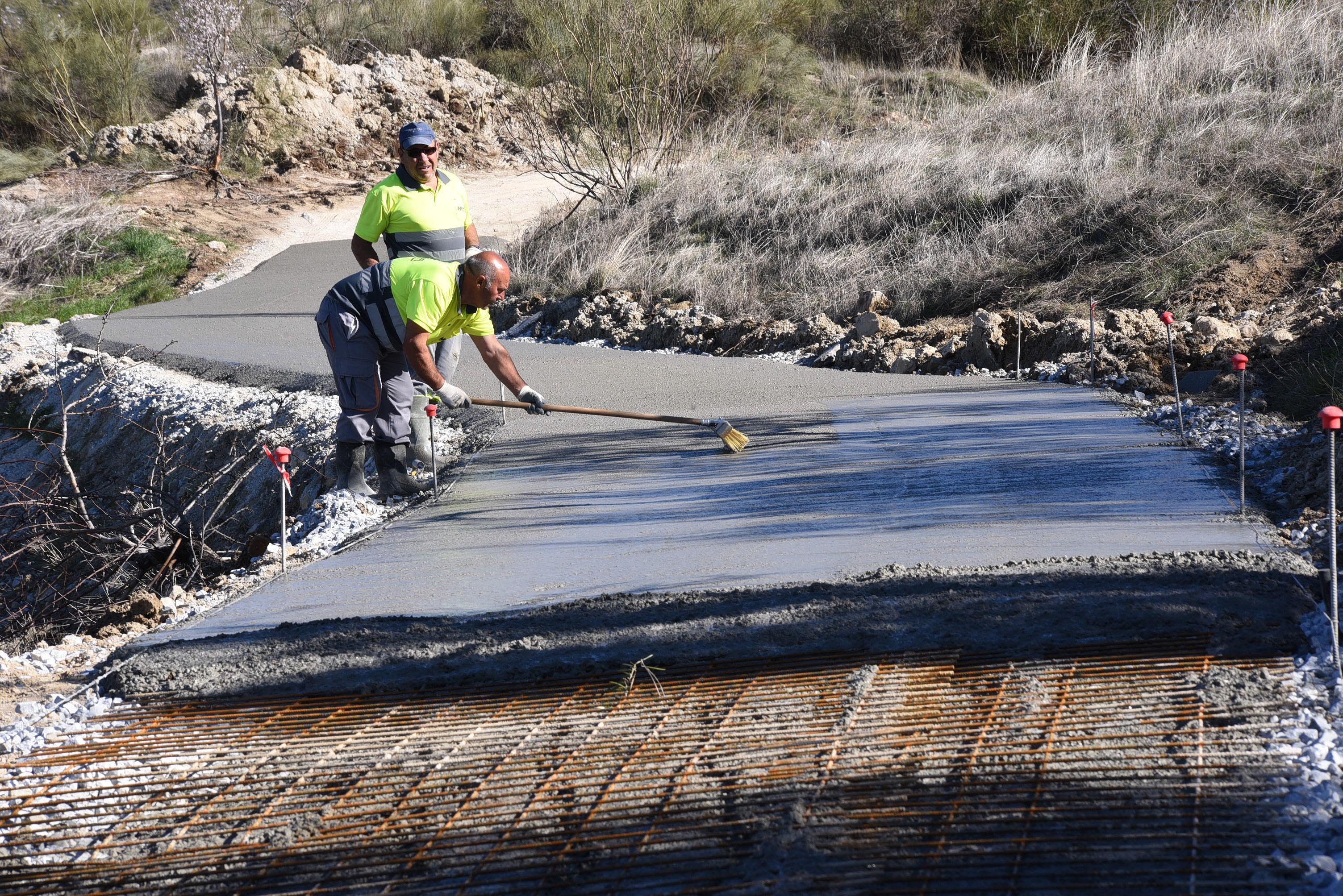 Diputación interviene en caminos rurales de 65 municipios con una inversión de 1,8 millones de euros