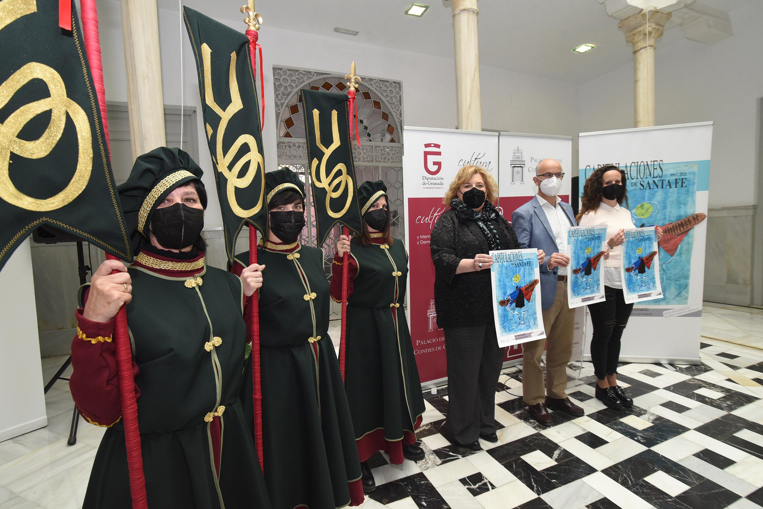 Santa Fe recupera la celebración de las Capitulaciones con un completo programa anticovid