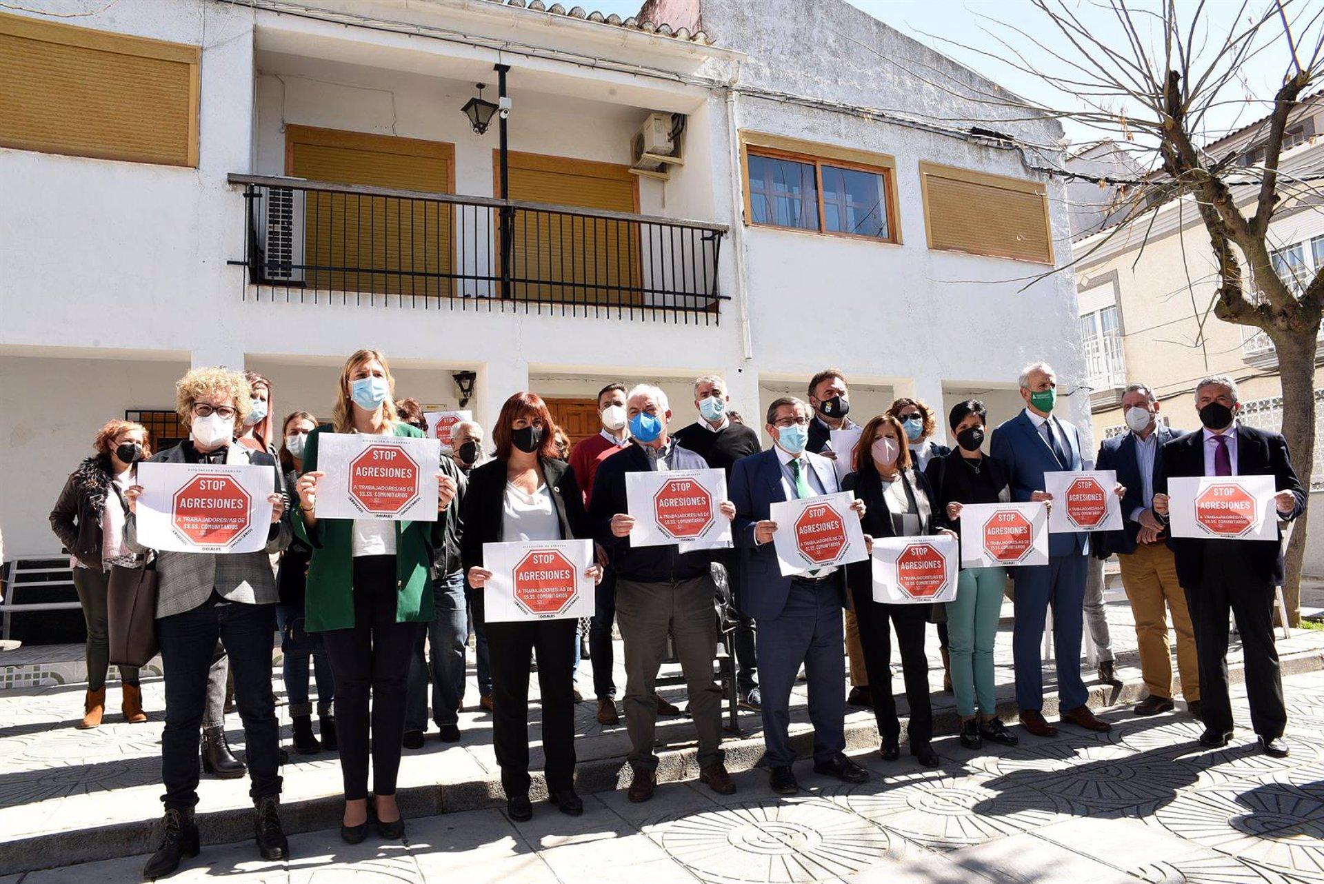 El Consejo Andaluz de Trabajo Social respalda a los profesionales agredidos en Campotéjar
