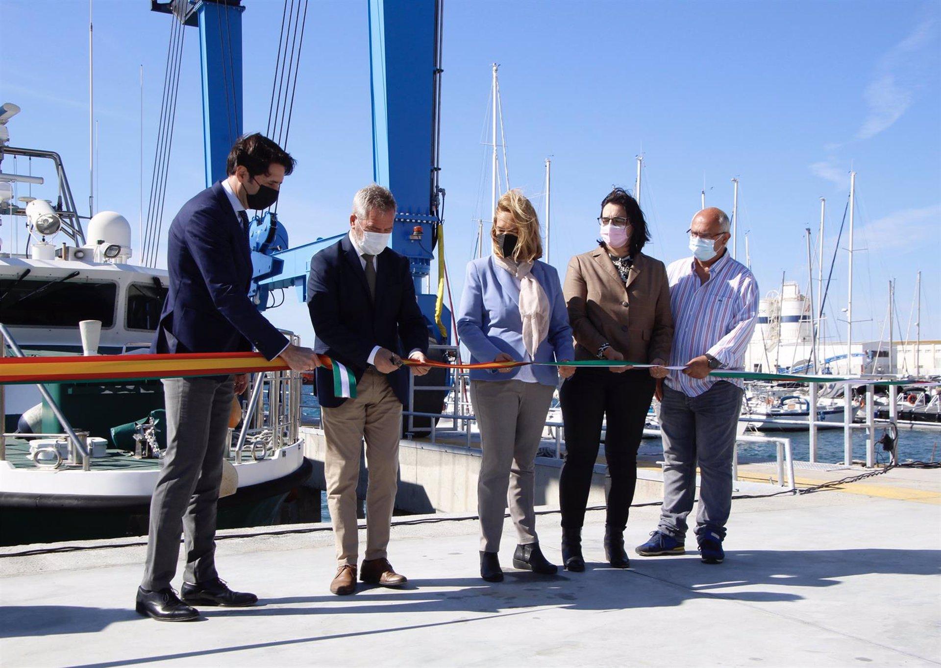 El puerto recupera el varadero para la reparación de embarcaciones