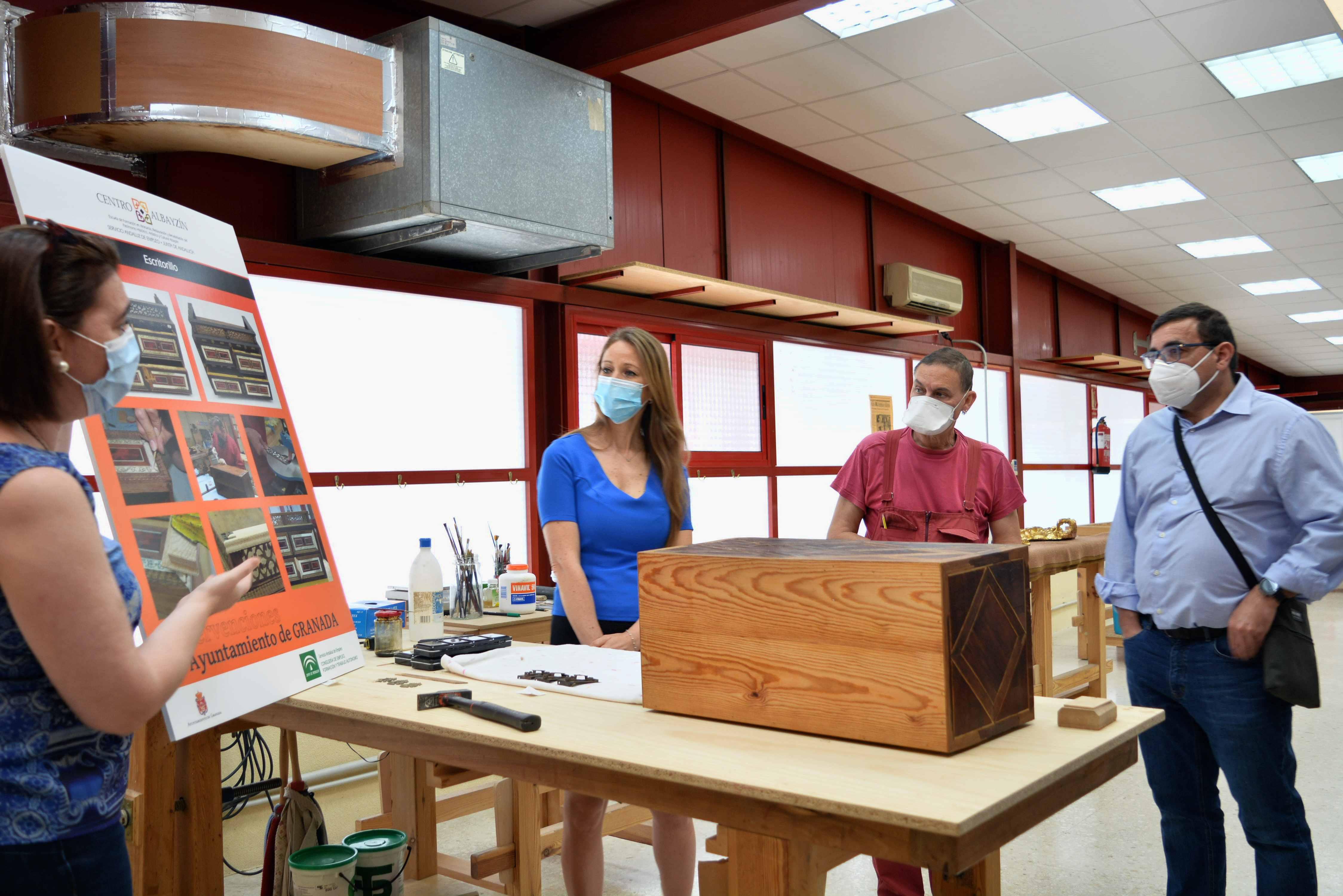 El Centro Albayzín reactiva su actividad con un curso que permite la recuperación del patrimonio artístico