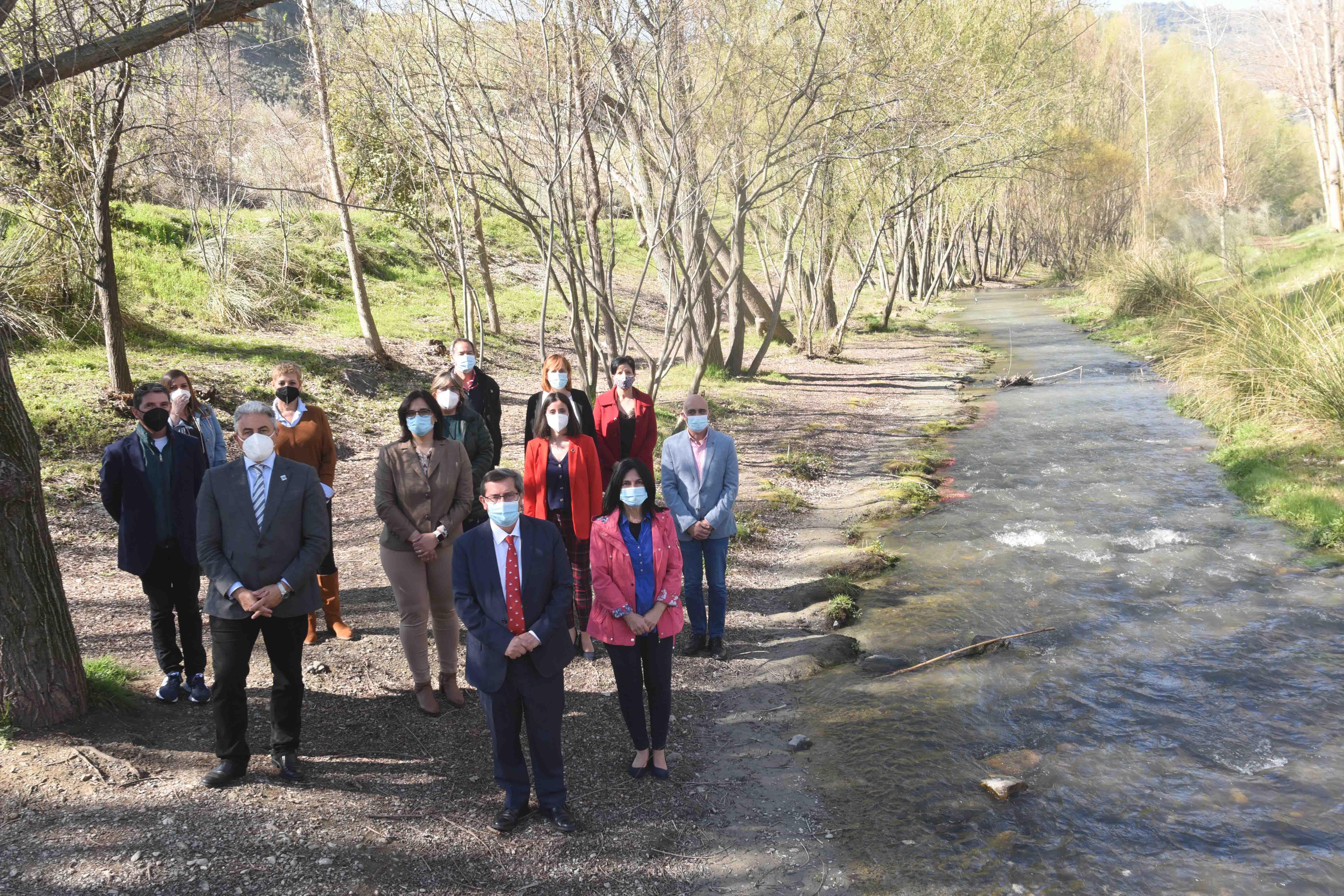 Diputación impulsa un proyecto para movilizar a la sociedad en torno al cuidado de los ríos de la provincia