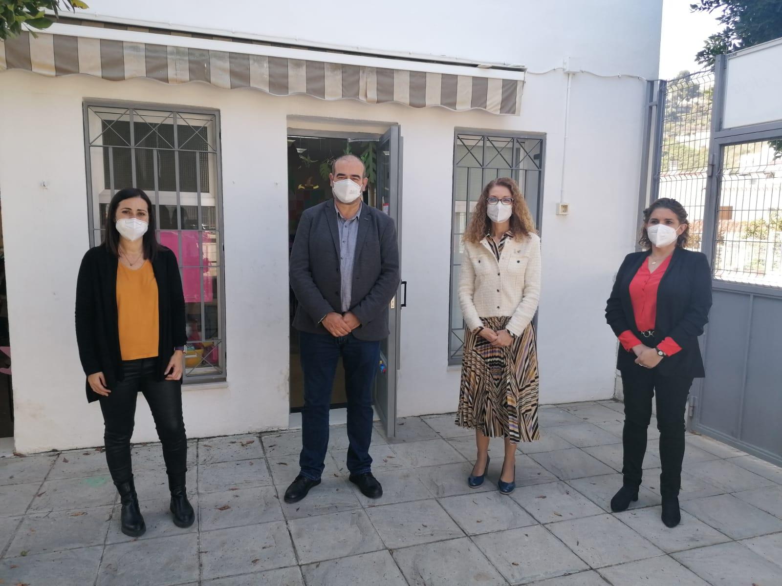 Invierten más de 160.000 euros en obras de ampliación y mejora de los centros educativos de Salobreña
