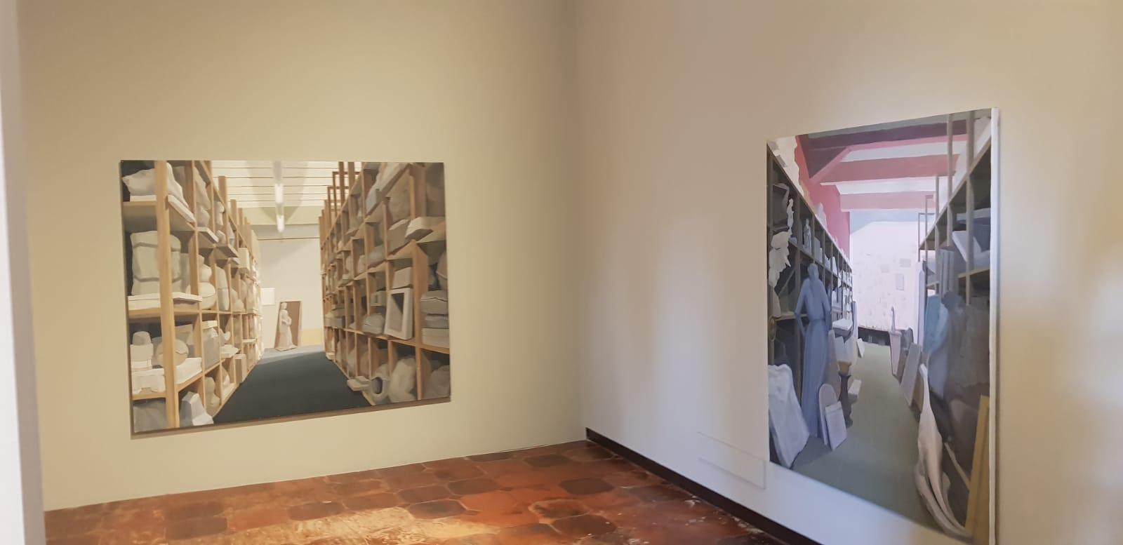 Gloria Martín Montaño expone «Propuesta para una colección temporal» en el Hospital Real