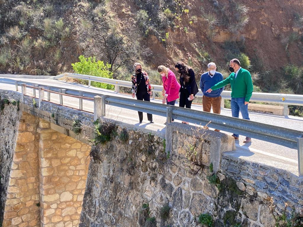 El PP exige celeridad a la Diputación para arreglar el puente de acceso a Albuñuelas